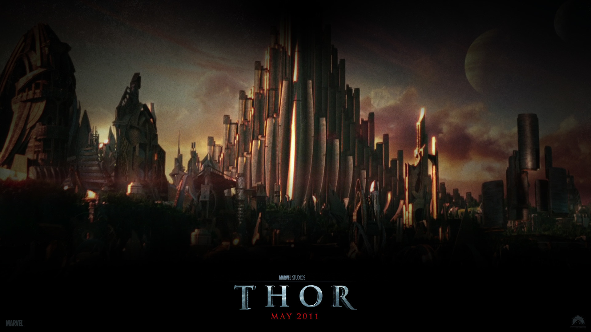 1920x1080 Asgard from the Movie Thor wallpaper - Click picture for high resolution HD  wallpaper
