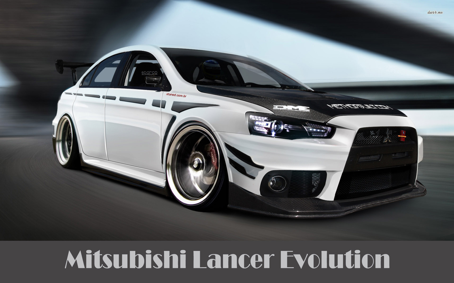 1920x1200 ... Mitsubishi Lancer Evolution X wallpaper  ...