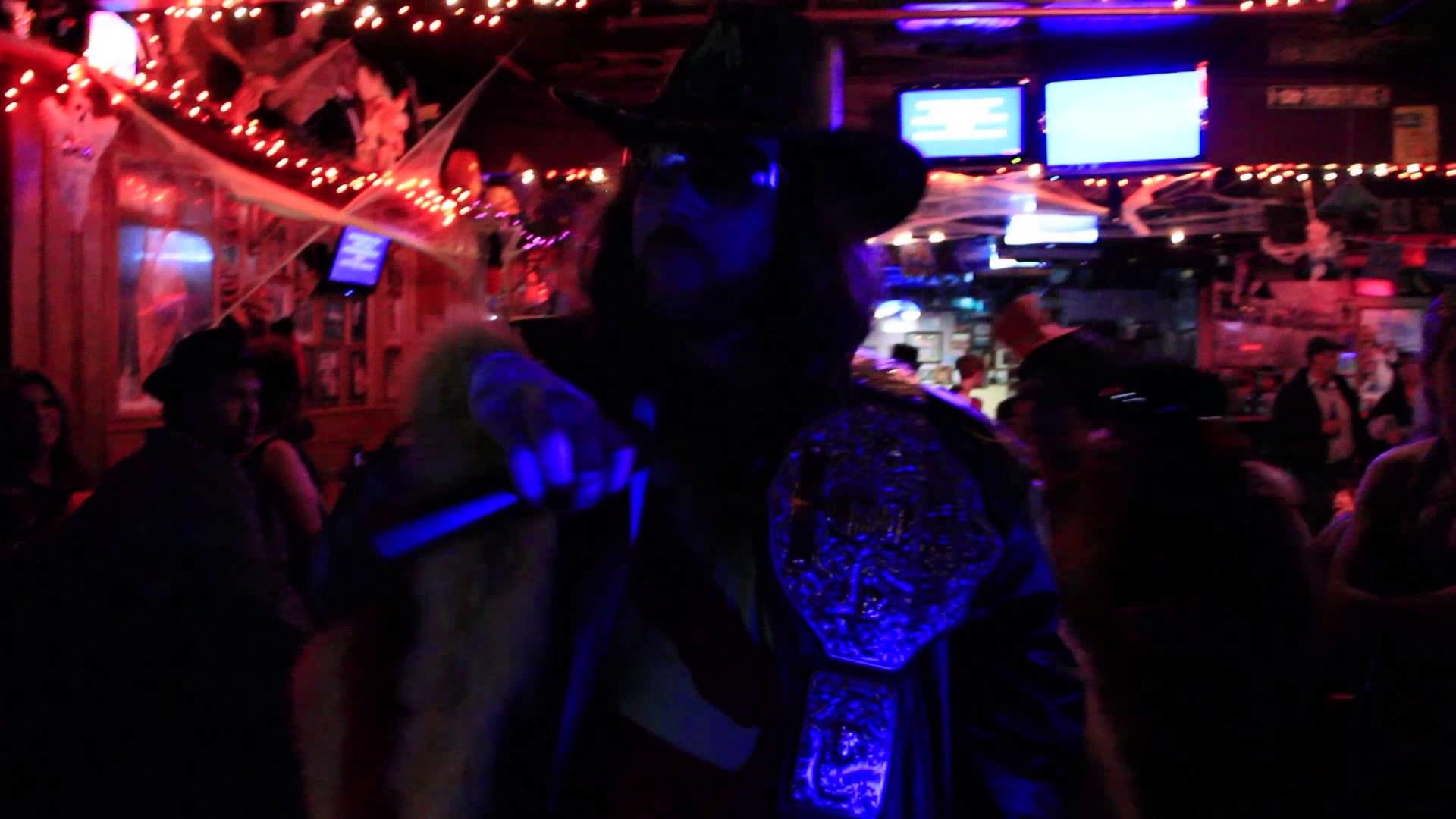 "1920x1080 Macho Man Randy Savage singing ""Macho Man"" by the village people (Karaoke)"