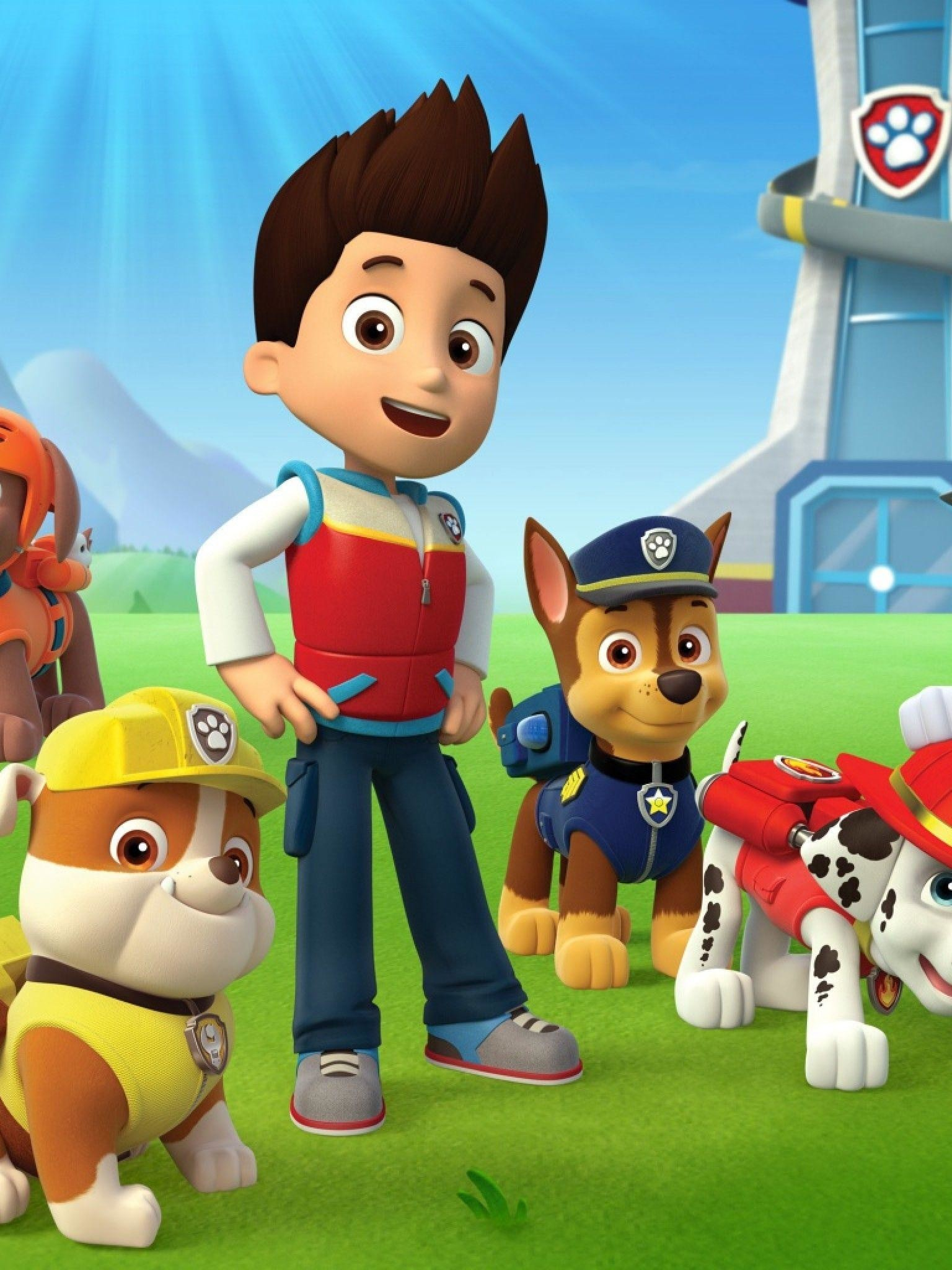 1536x2048 Paw Patrol Wallpaper Retina iPad - Wallpaper - Krom Games Wallpapers