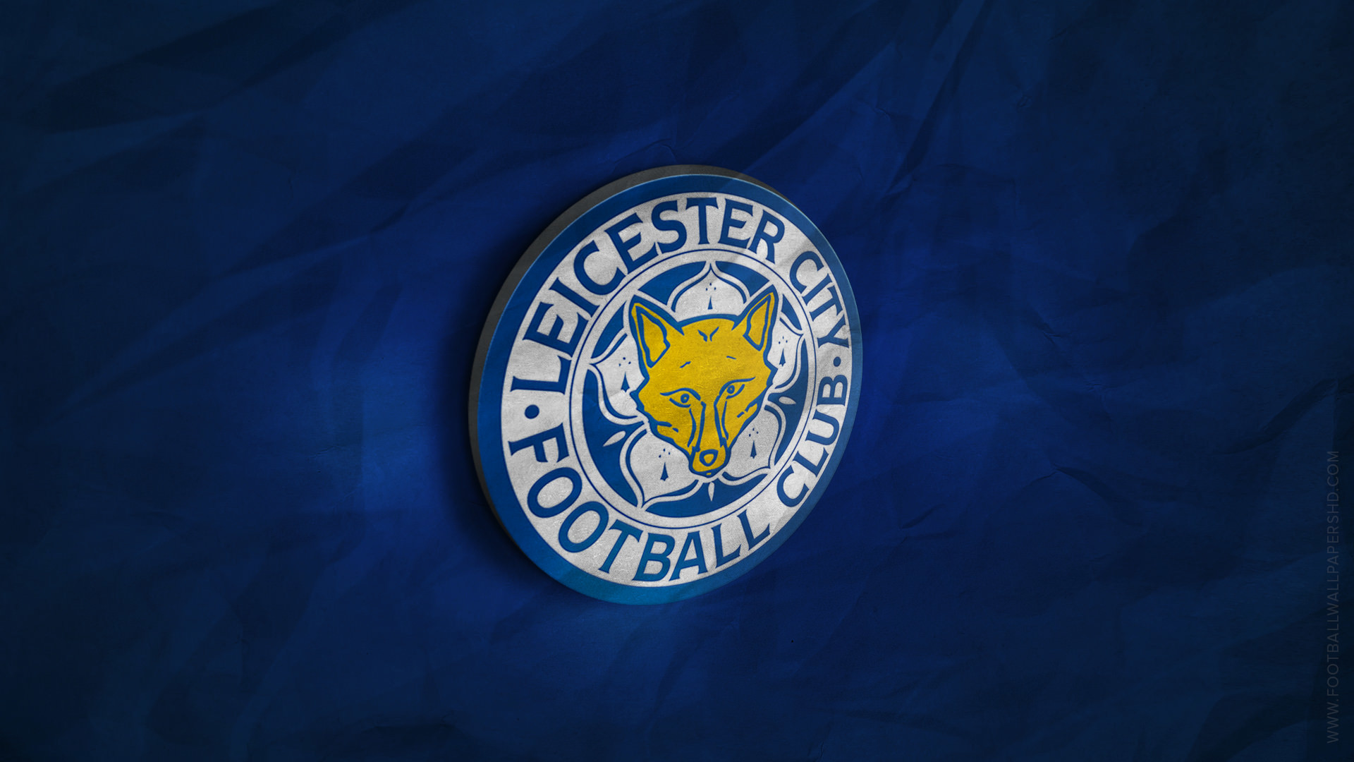 1920x1080 Leicester City 3D Logo Wallpaper