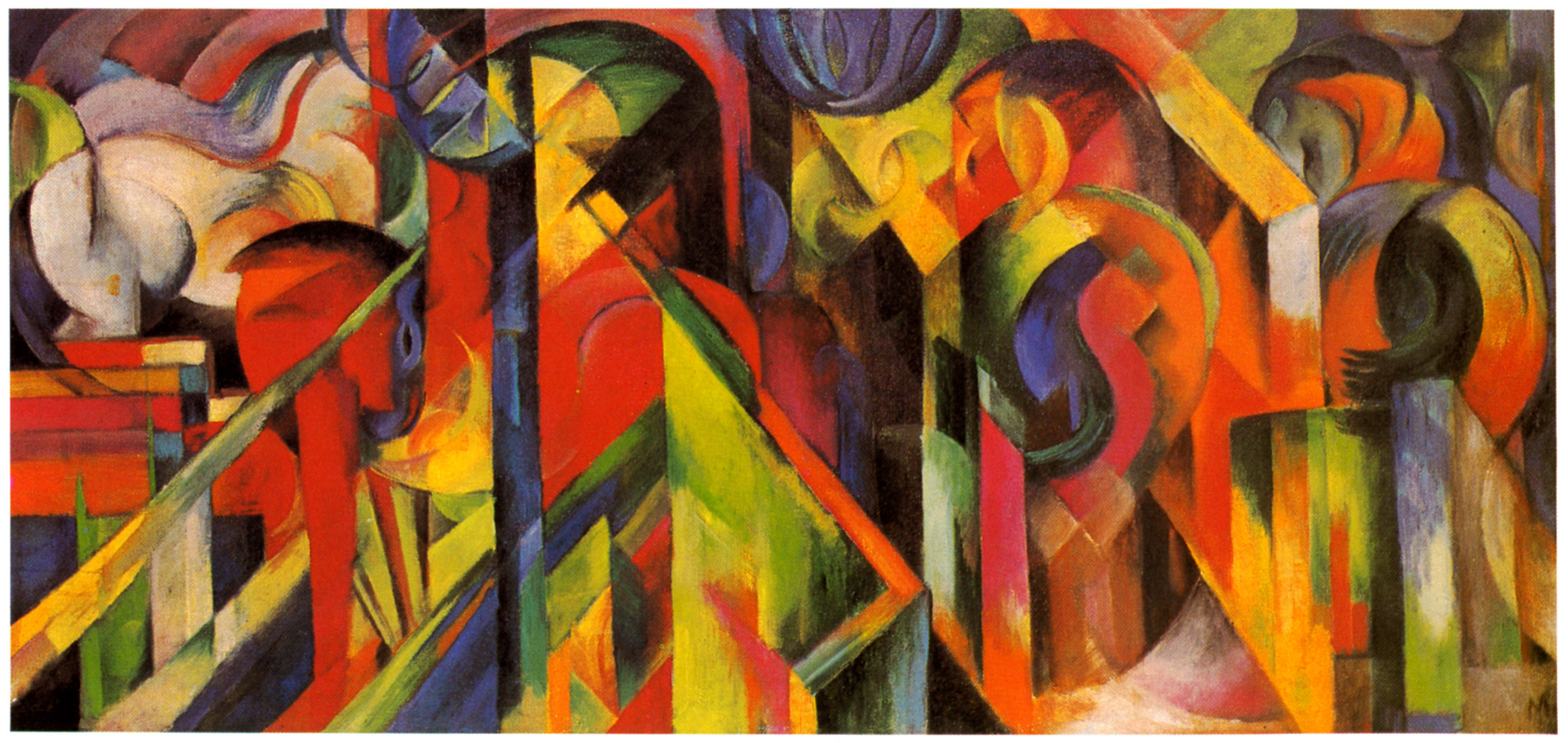 Franz Marc S Paintings