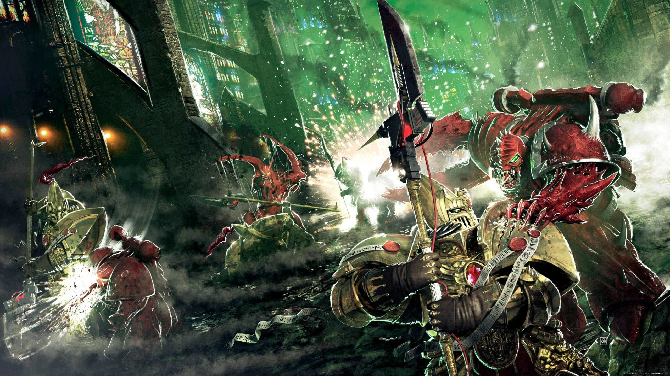 2560x1440 Mutant Chaos Space Marine Chaos Space Marine wallpaper |  .