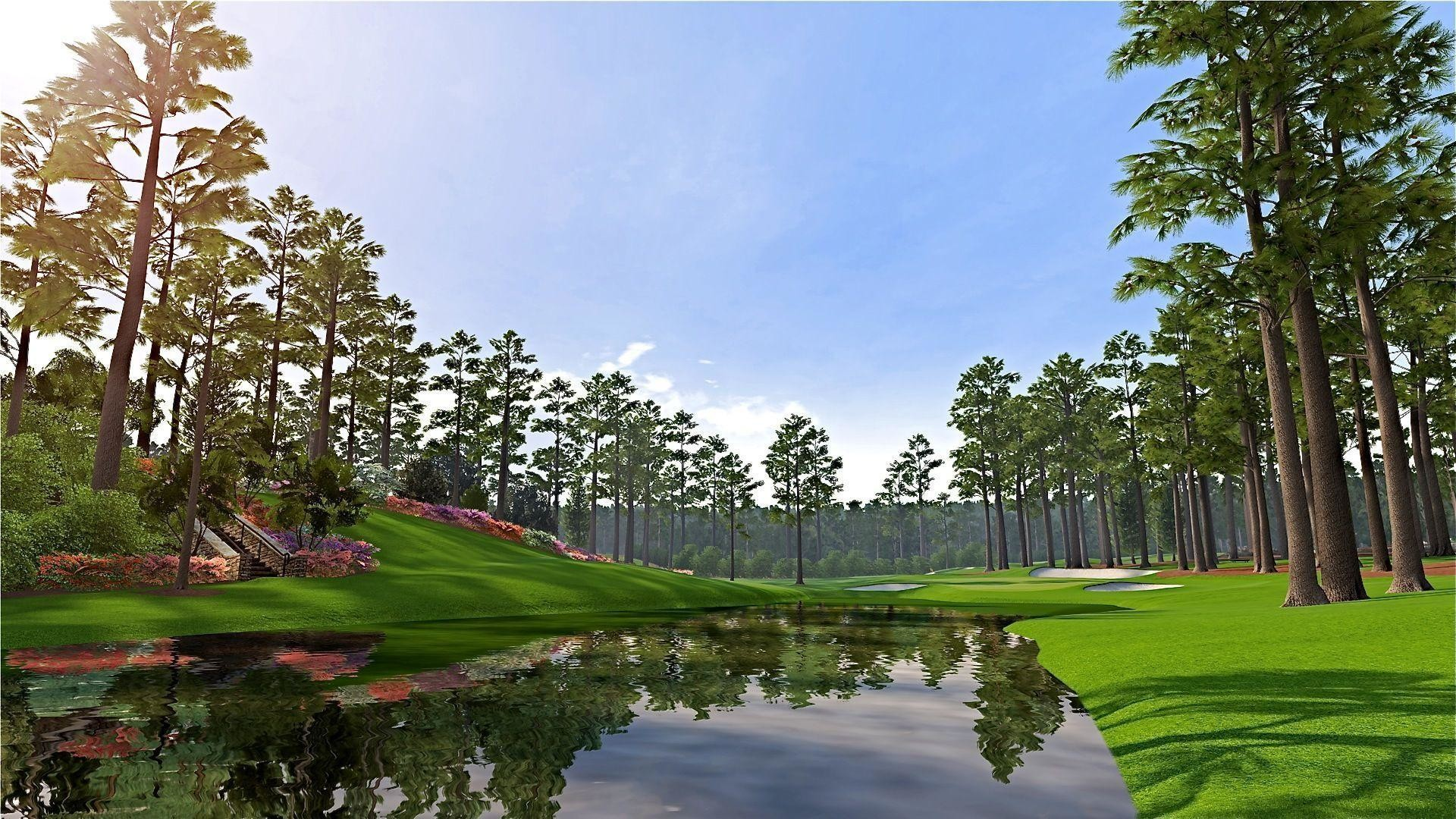 1920x1080 The Augusta National Golf Course Wallpapers HD Masters 2013