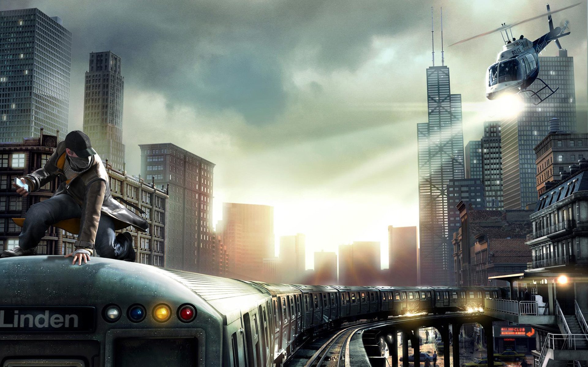 1920x1200 Video Game - Watch Dogs Wallpaper