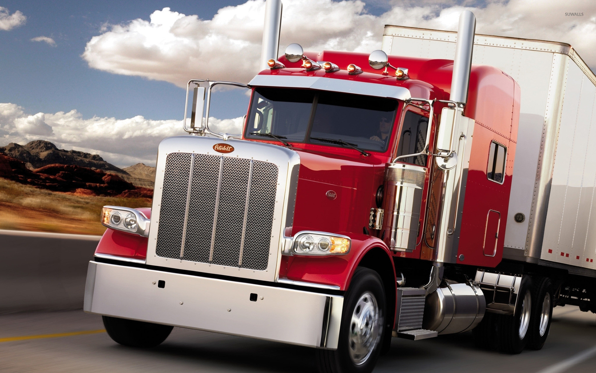 1920x1200 Peterbilt Truck [7] wallpaper