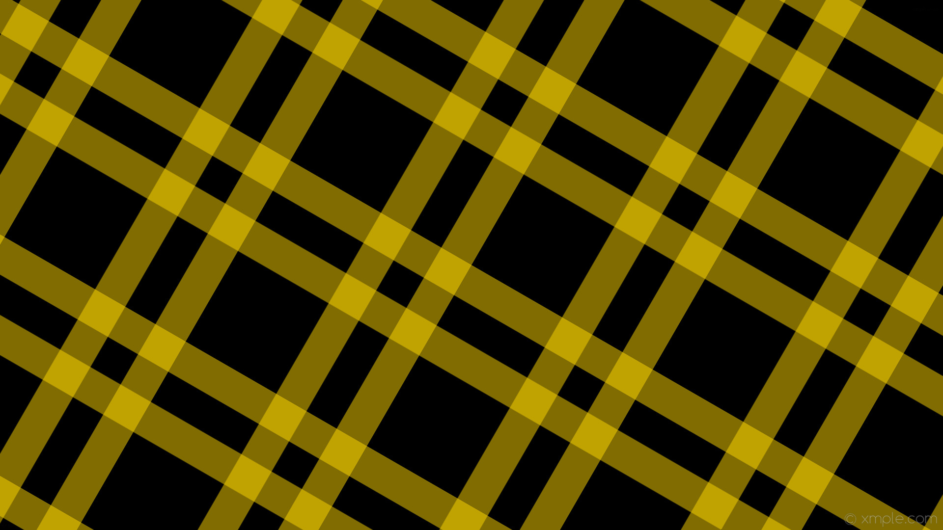 1920x1080 wallpaper dual black striped yellow gingham gold #000000 #ffd700 240° 71px
