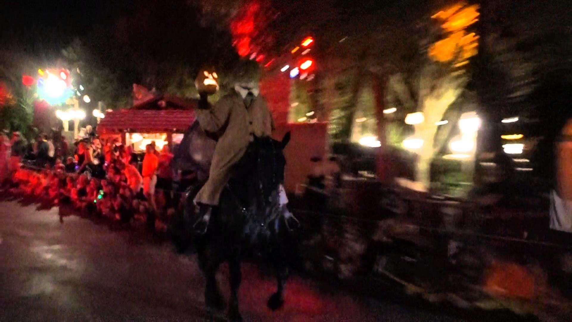 1920x1080 Ride of the Headless Horseman at Disney World Halloween Party