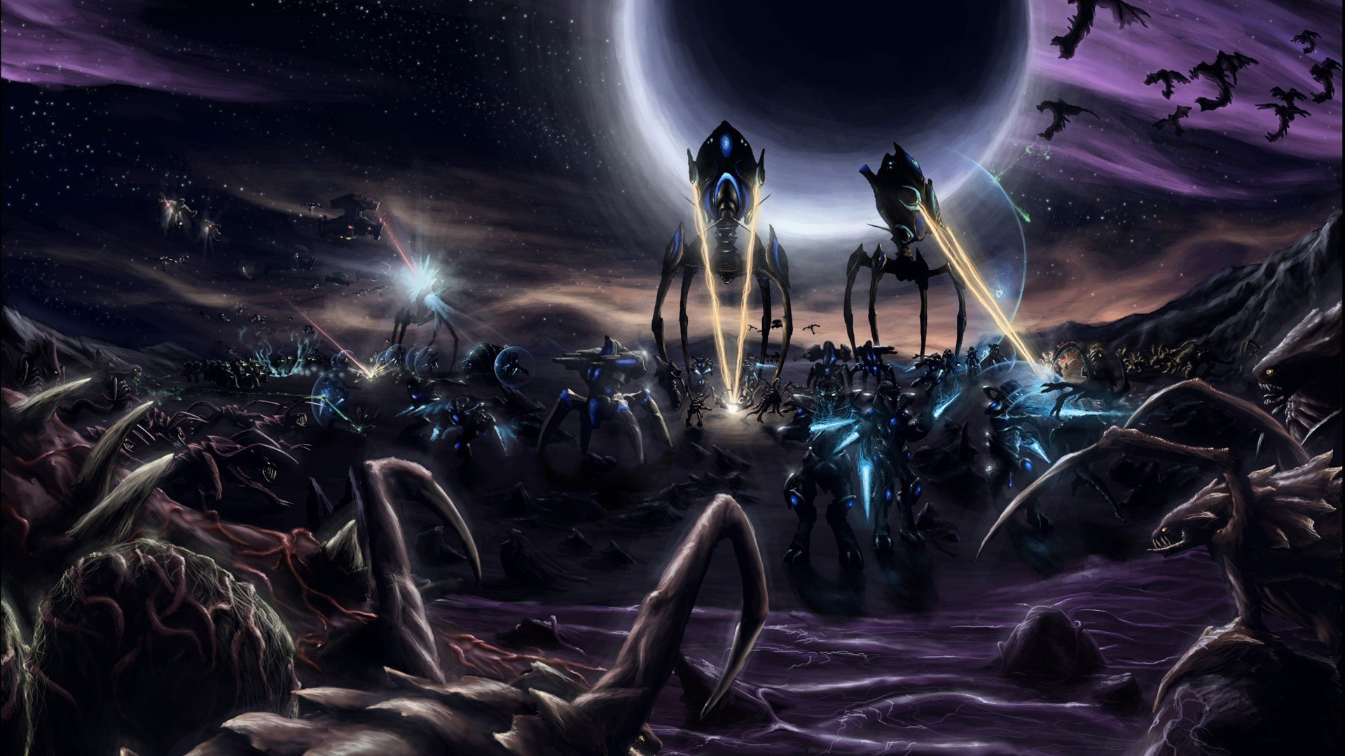 1920x1080 StarCraft Wallpapers New