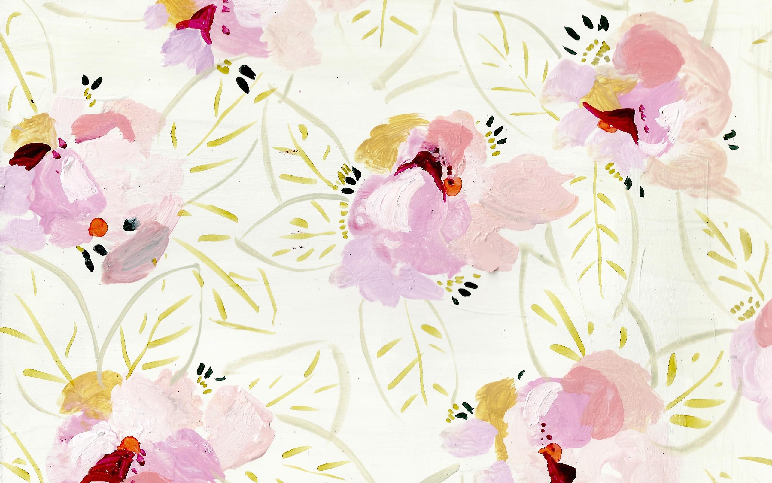 2570x1608 Free floral desktop computer background wallpaper from Design Lovefest.