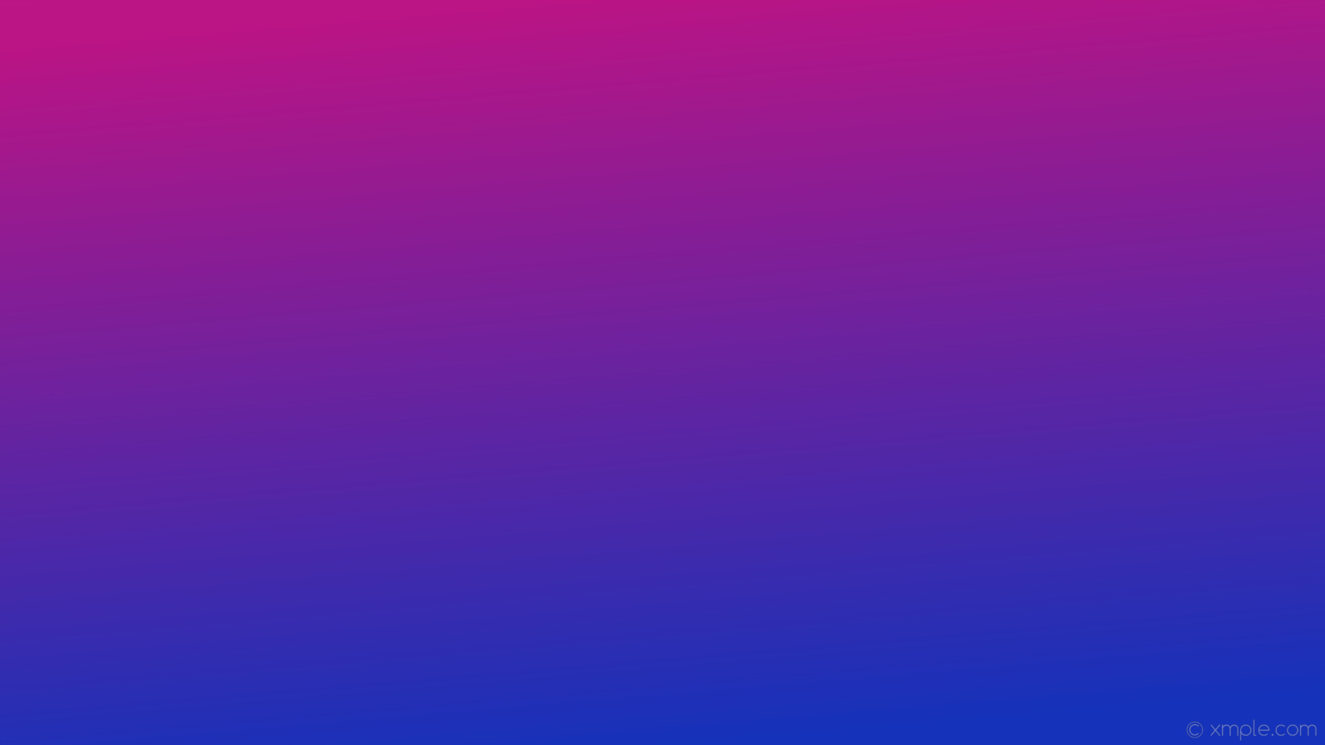 1920x1080 wallpaper linear pink gradient blue #1432ba #ba1485 285°