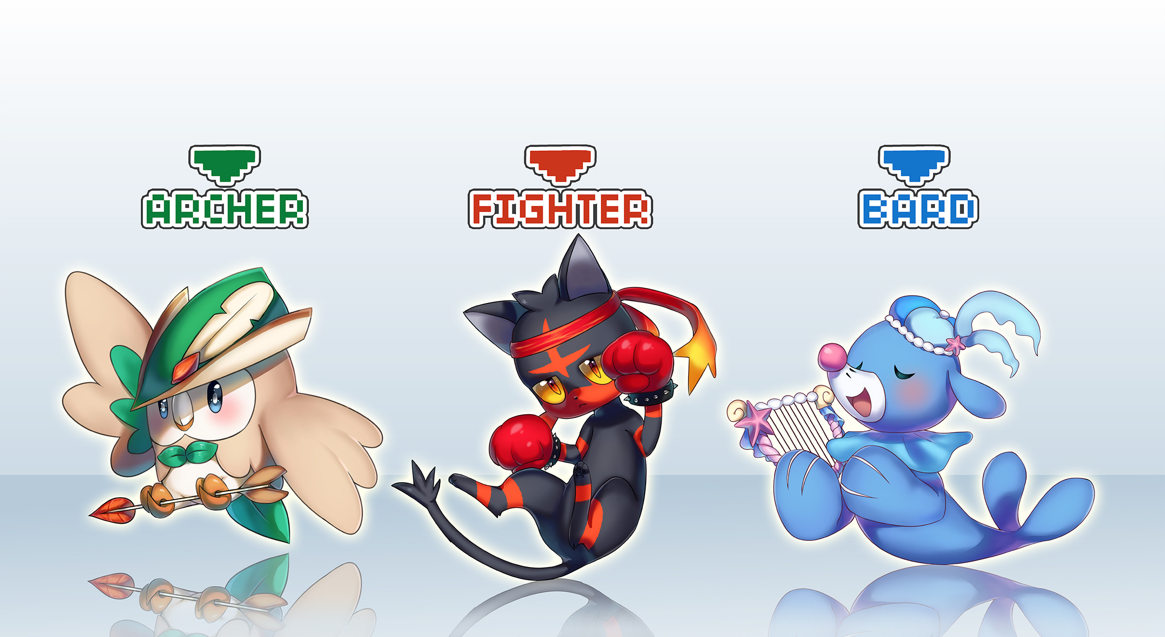 Pokemon Starters Wallpapers 71 Images