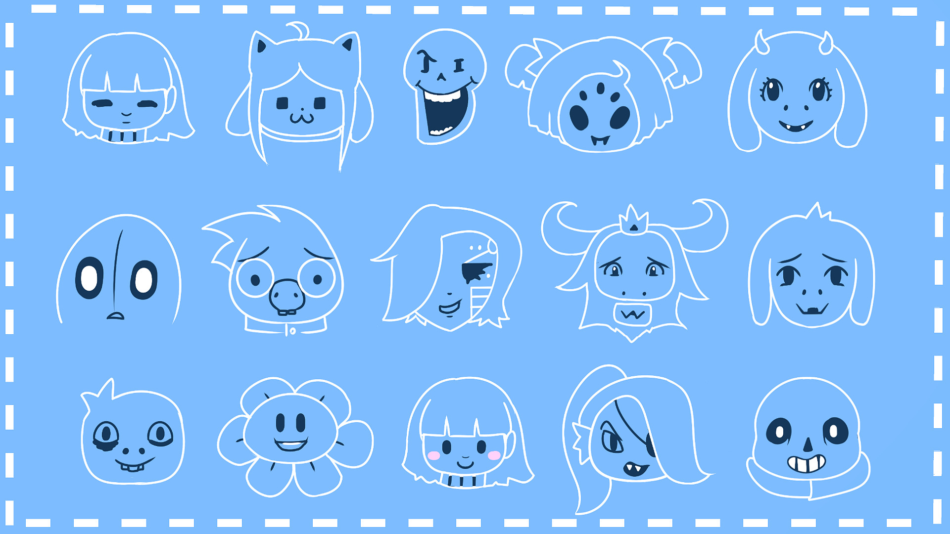 1920x1080 High Quality Undertale Images Collection for Desktop