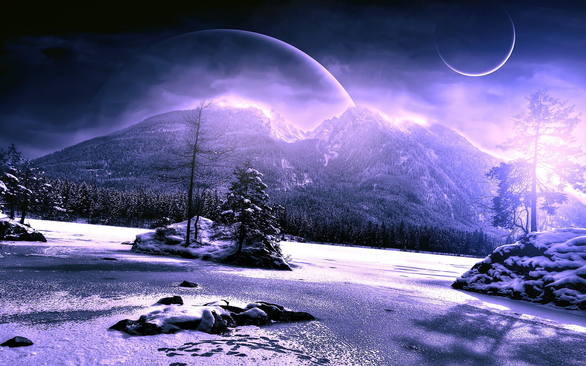 Alien Planet Landscapes Wallpaper (66+ images)
