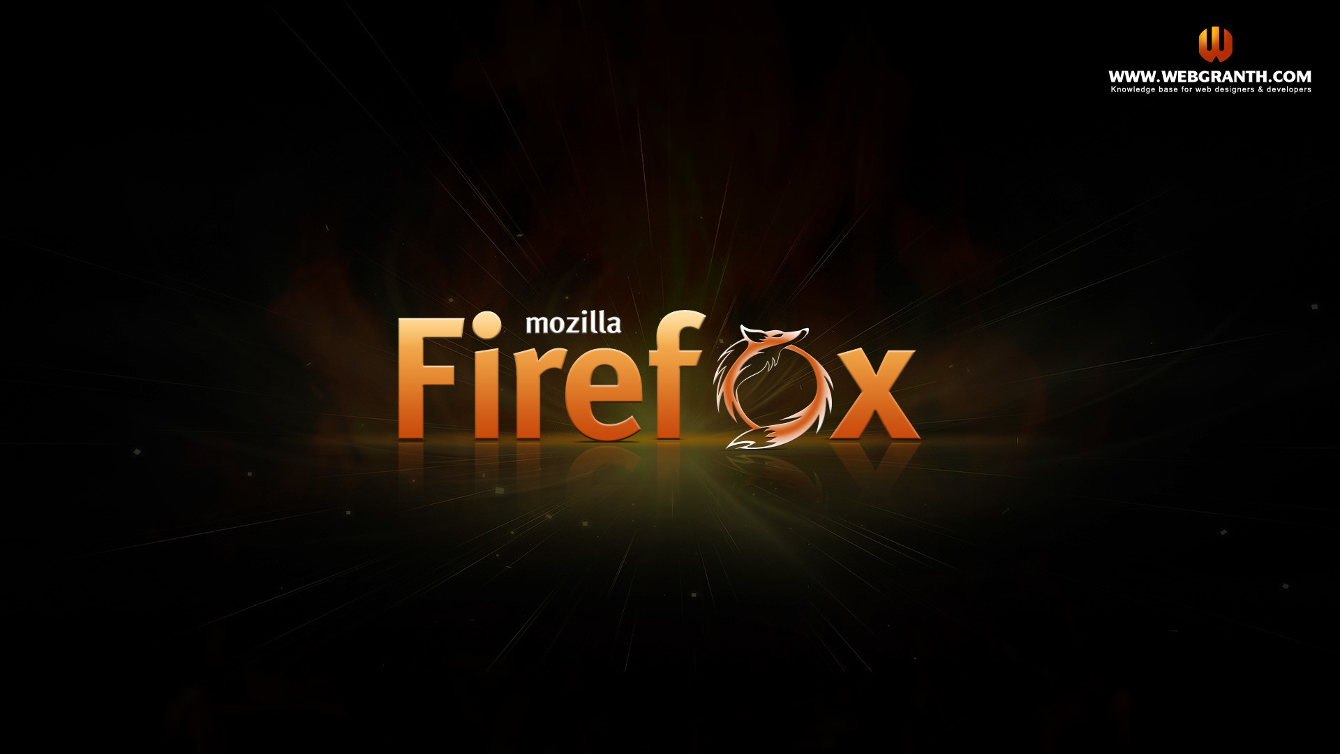 1920x1080 HD Mozilla Firefox wallpaper 2013 @webgranth