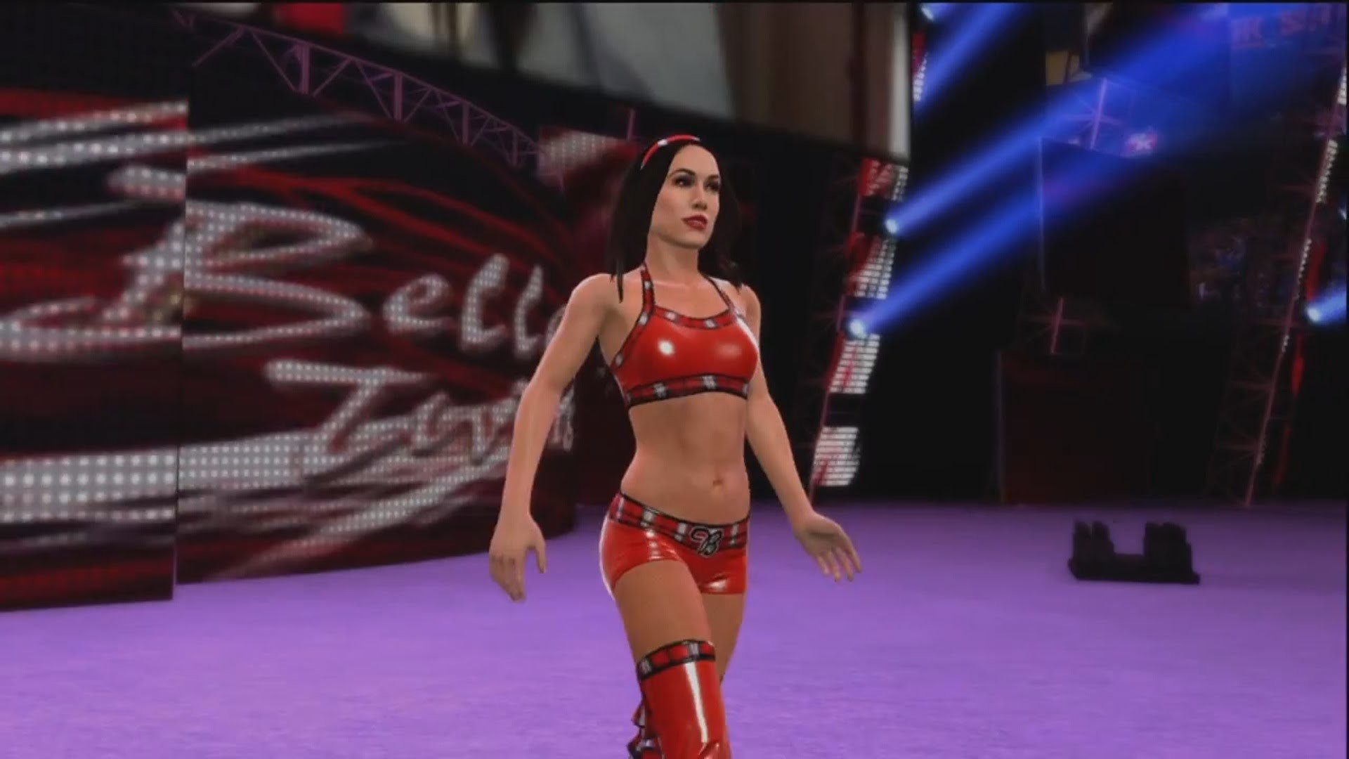 1920x1080 Brie Bella makes her Entrance in WWE 2K15