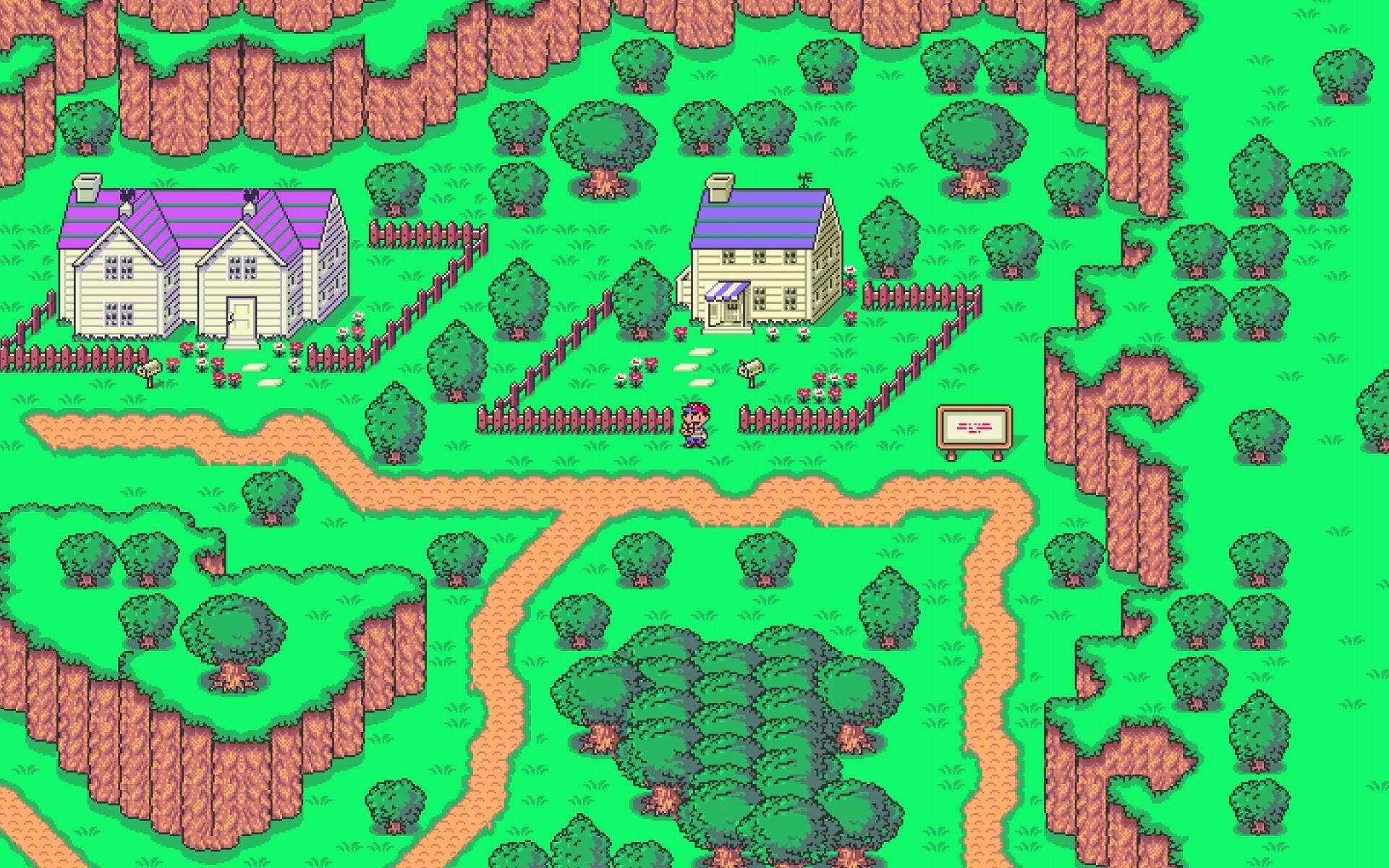 1920x1200 Earthbound--Wallpapers
