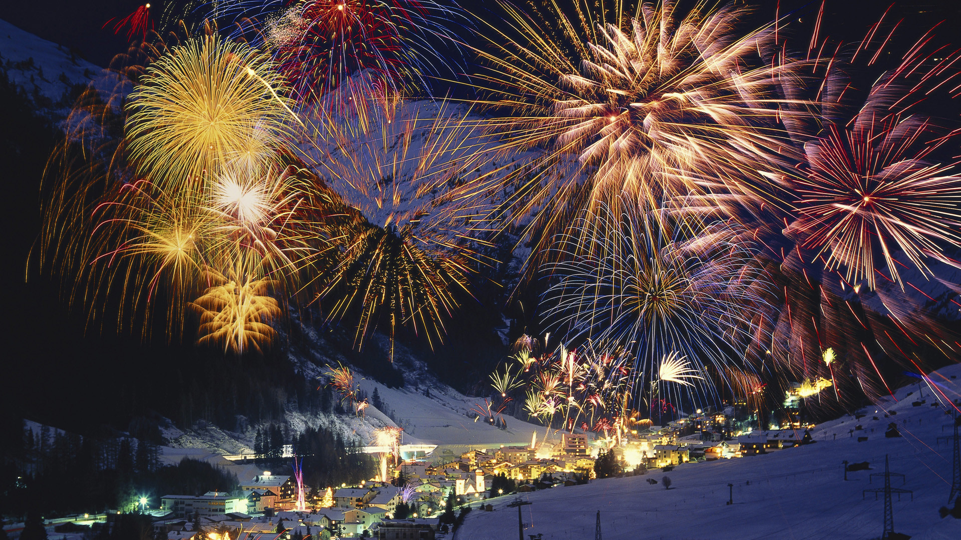 1920x1080 snow-scenery-wallpaper-festival-fireworks-free-download-free.