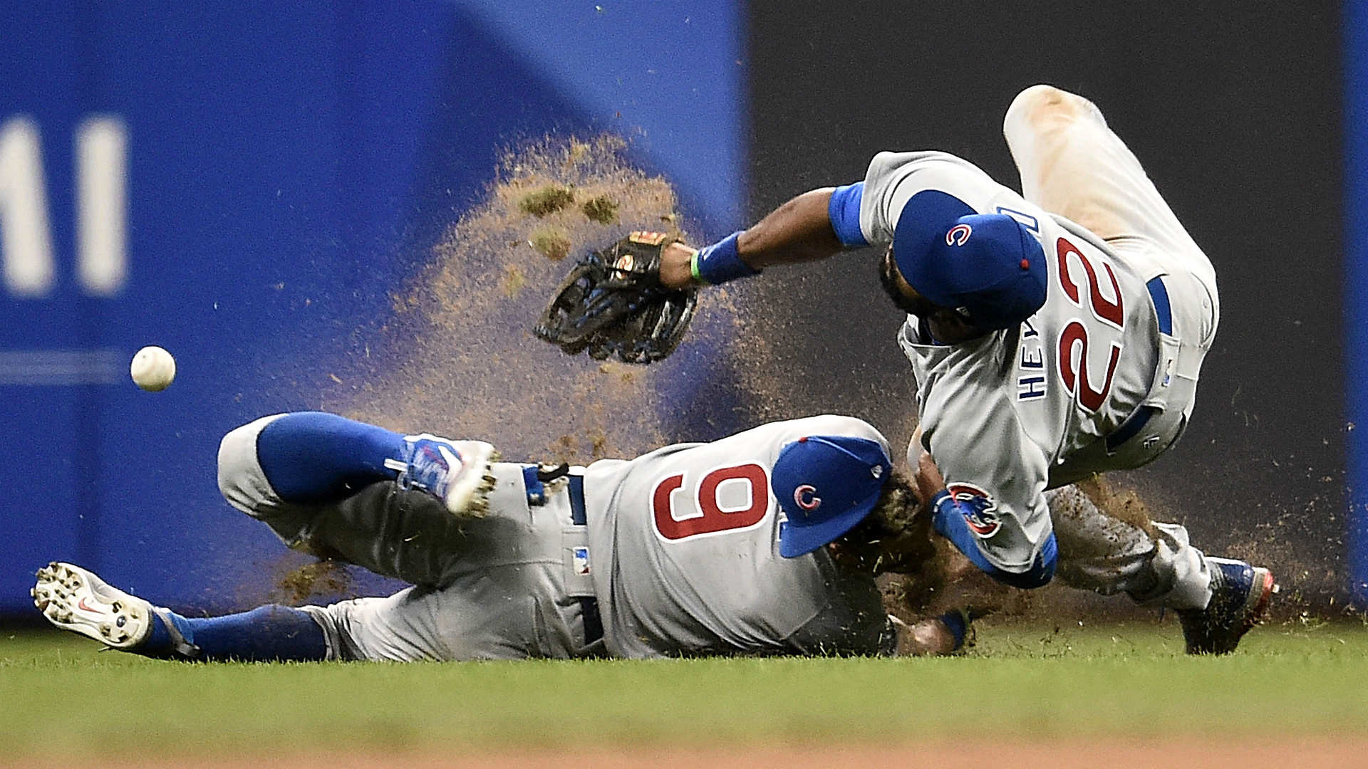 1920x1080 Javier Baez shaken up in scary collision with Jason Heyward | MLB |  Sporting News
