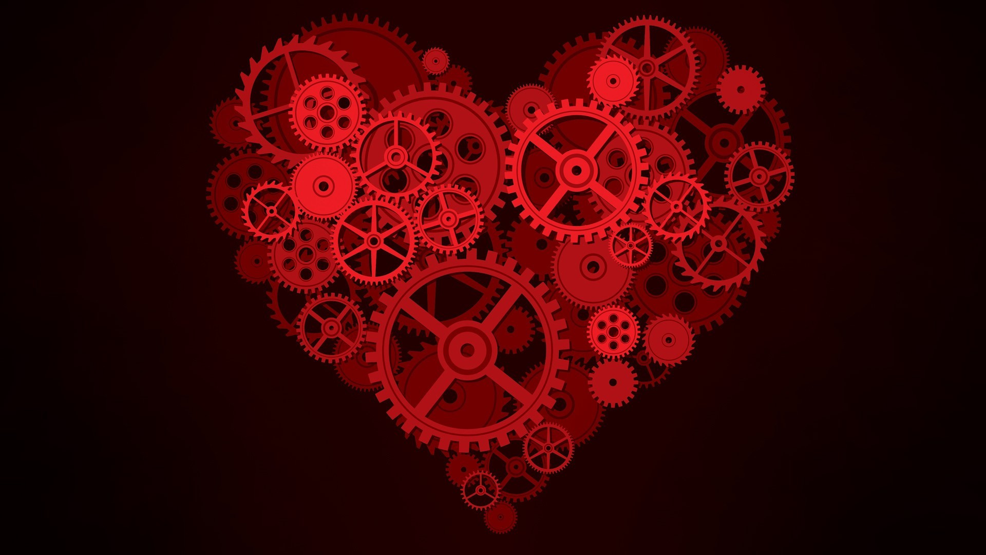 Black And Red Heart Wallpaper 61 Images