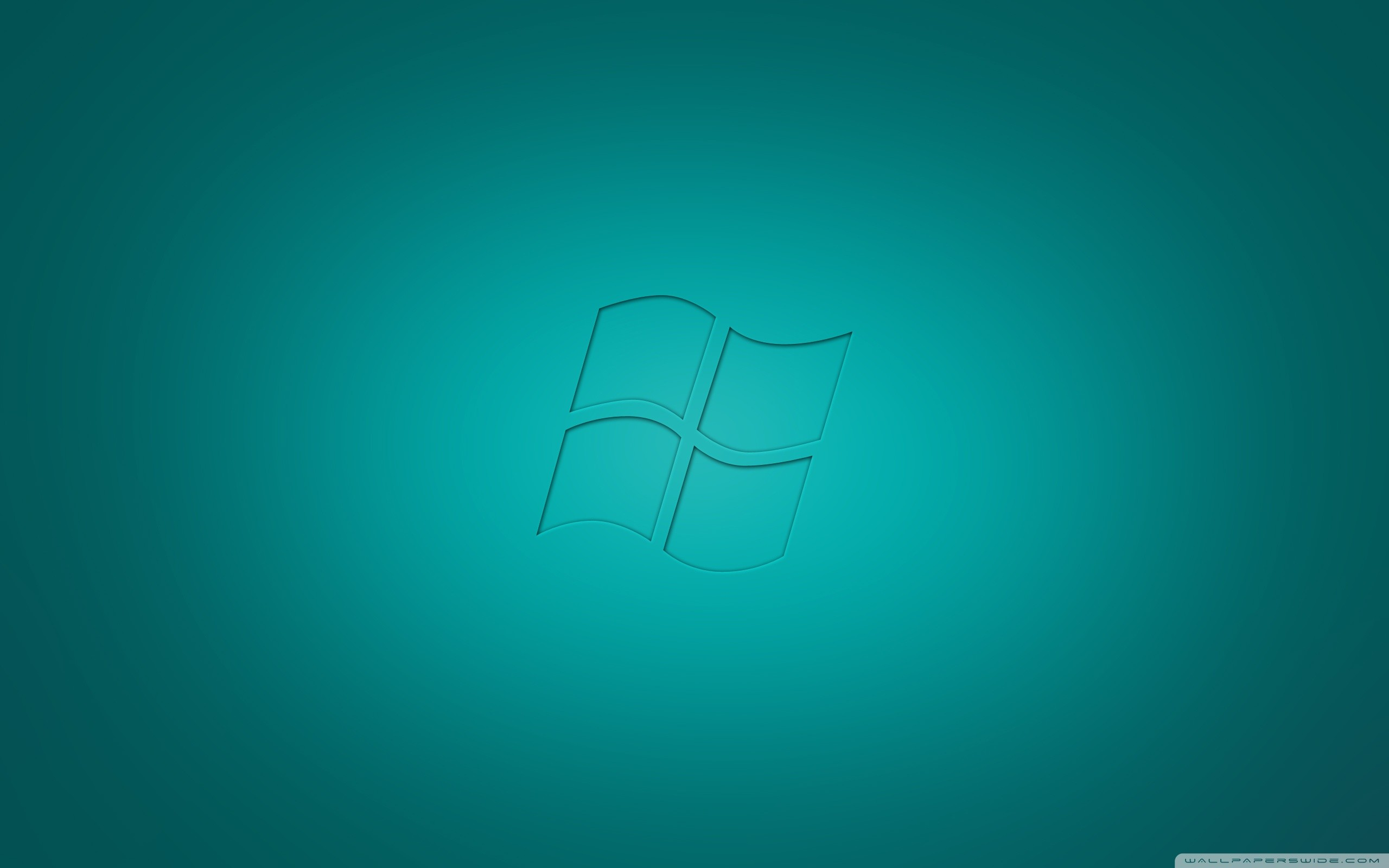 2560x1600 ... Windows Vista Cyan HD HD Wallpaper