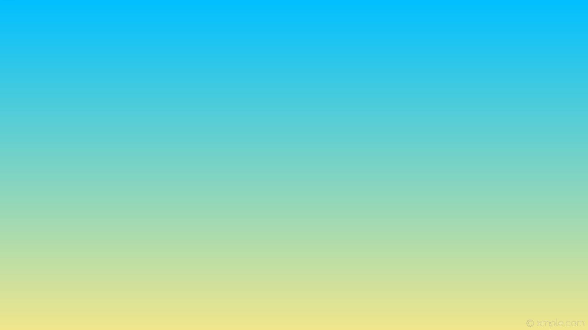 1920x1080 wallpaper linear blue yellow gradient khaki deep sky blue #f0e68c #00bfff  270°