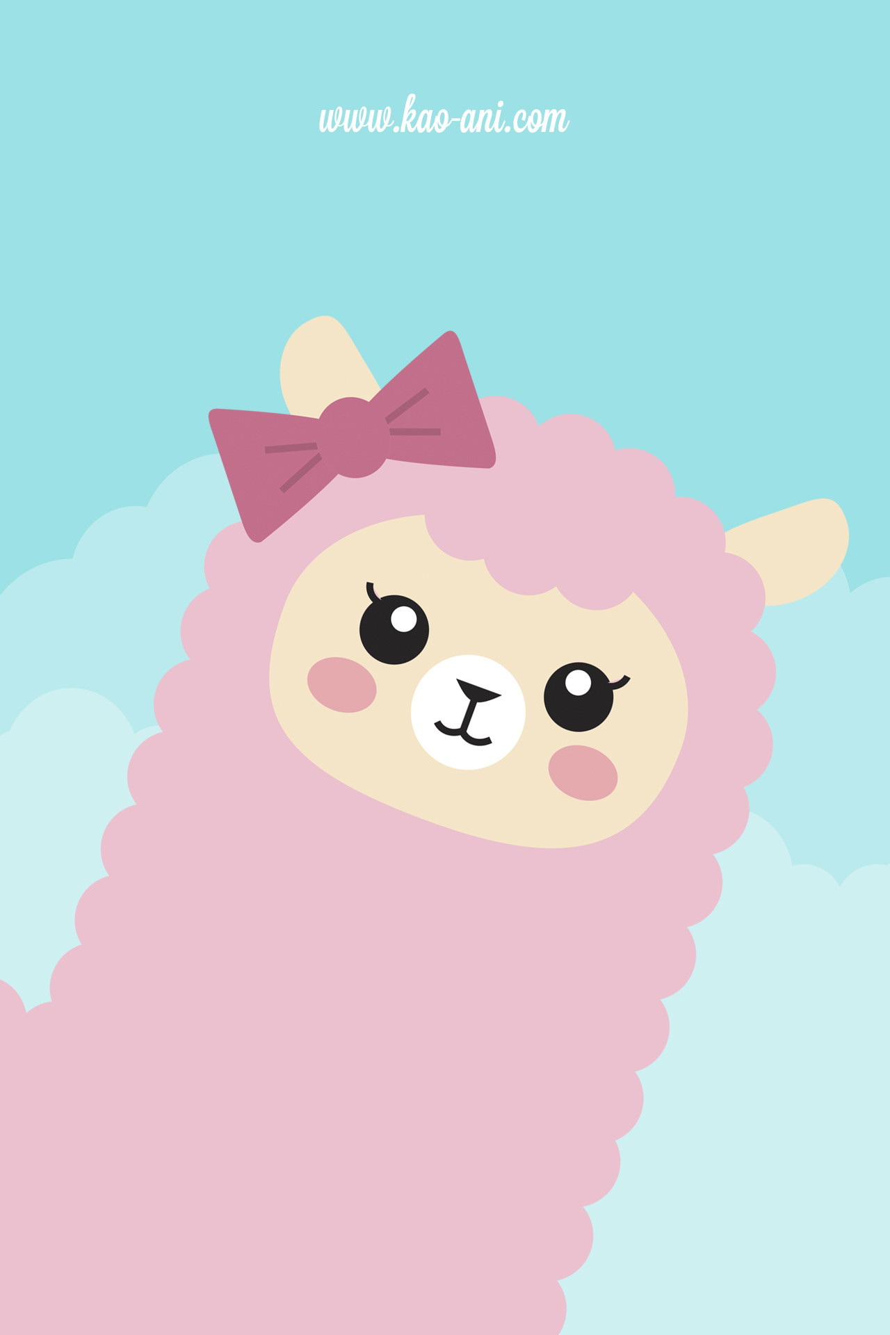 1280x1920 Iphone Backgrounds Tumblr Cute Alpaca iphone wallpaper