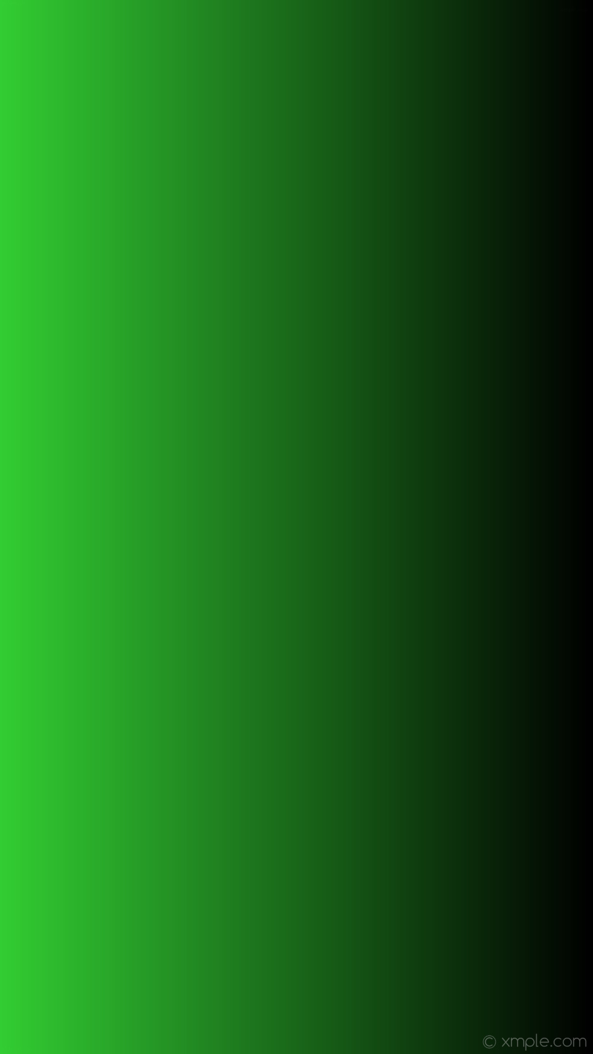 1152x2048 wallpaper gradient green black linear lime green #000000 #32cd32 0°