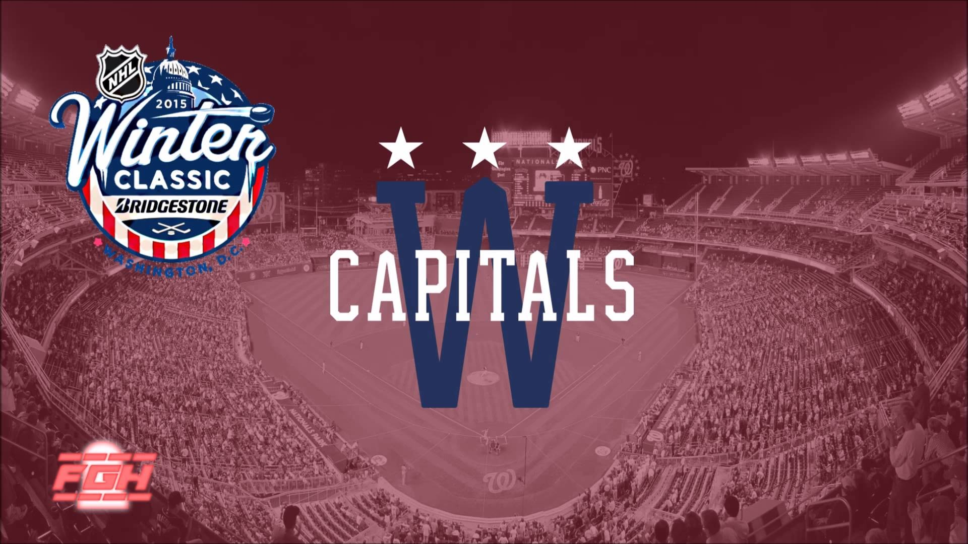 1920x1080 2015 Winter Classic Washington Capitals Goal Horn - YouTube