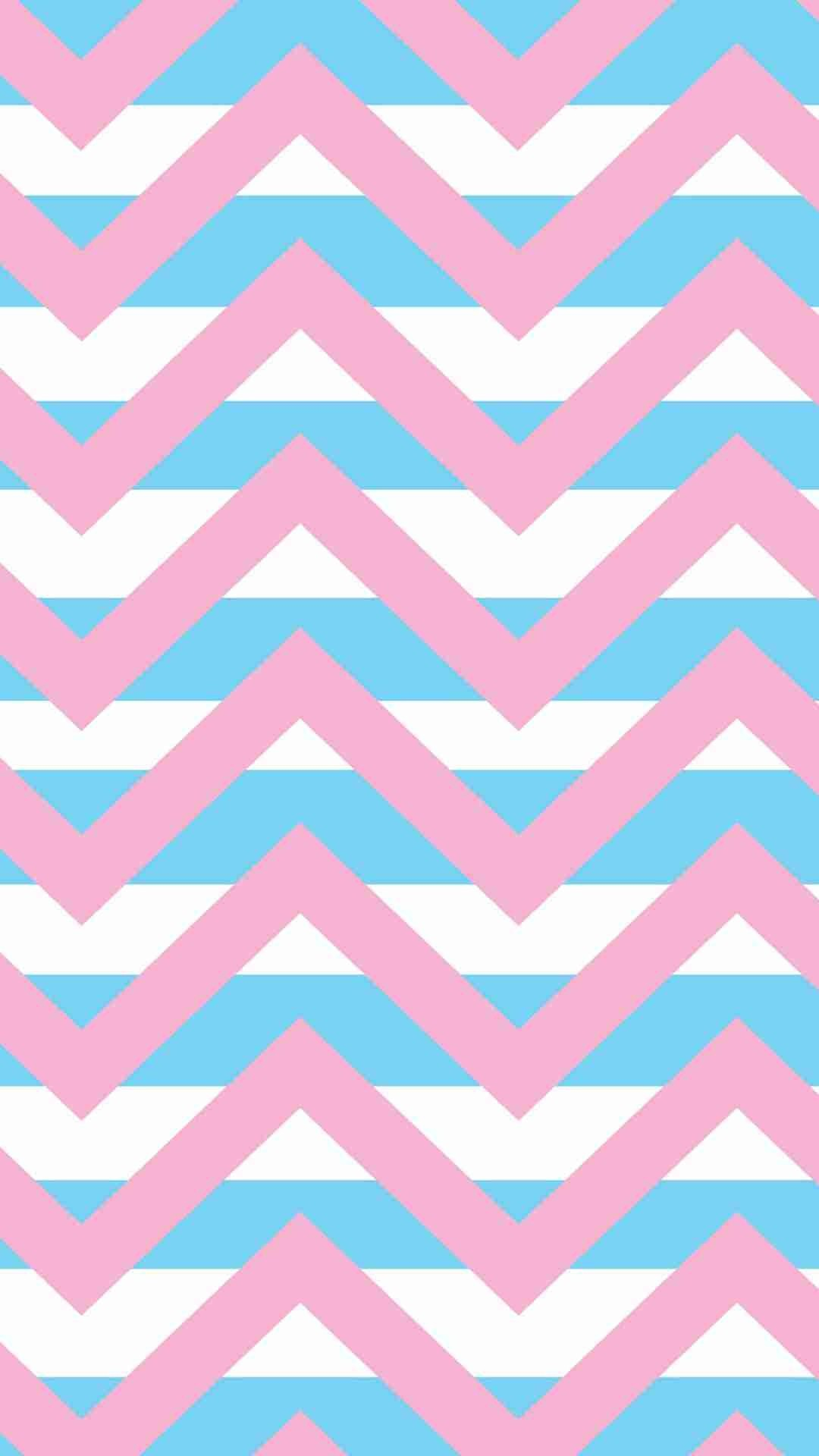 1080x1920 Blue And Pink Wallpaper Stripes
