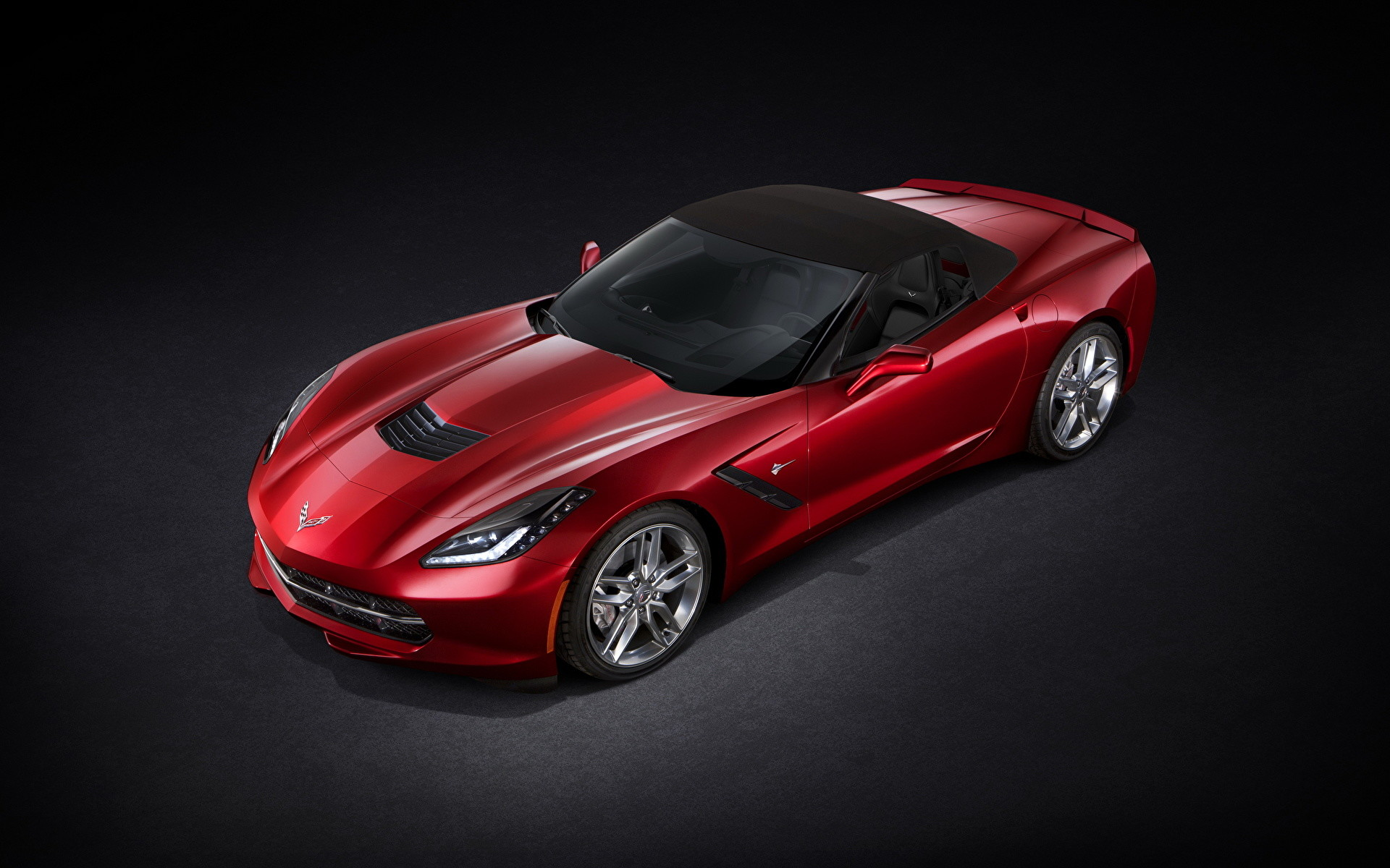 1920x1200 Wallpaper Chevrolet Corvette C7 Stingray convertible Red auto   Cars automobile