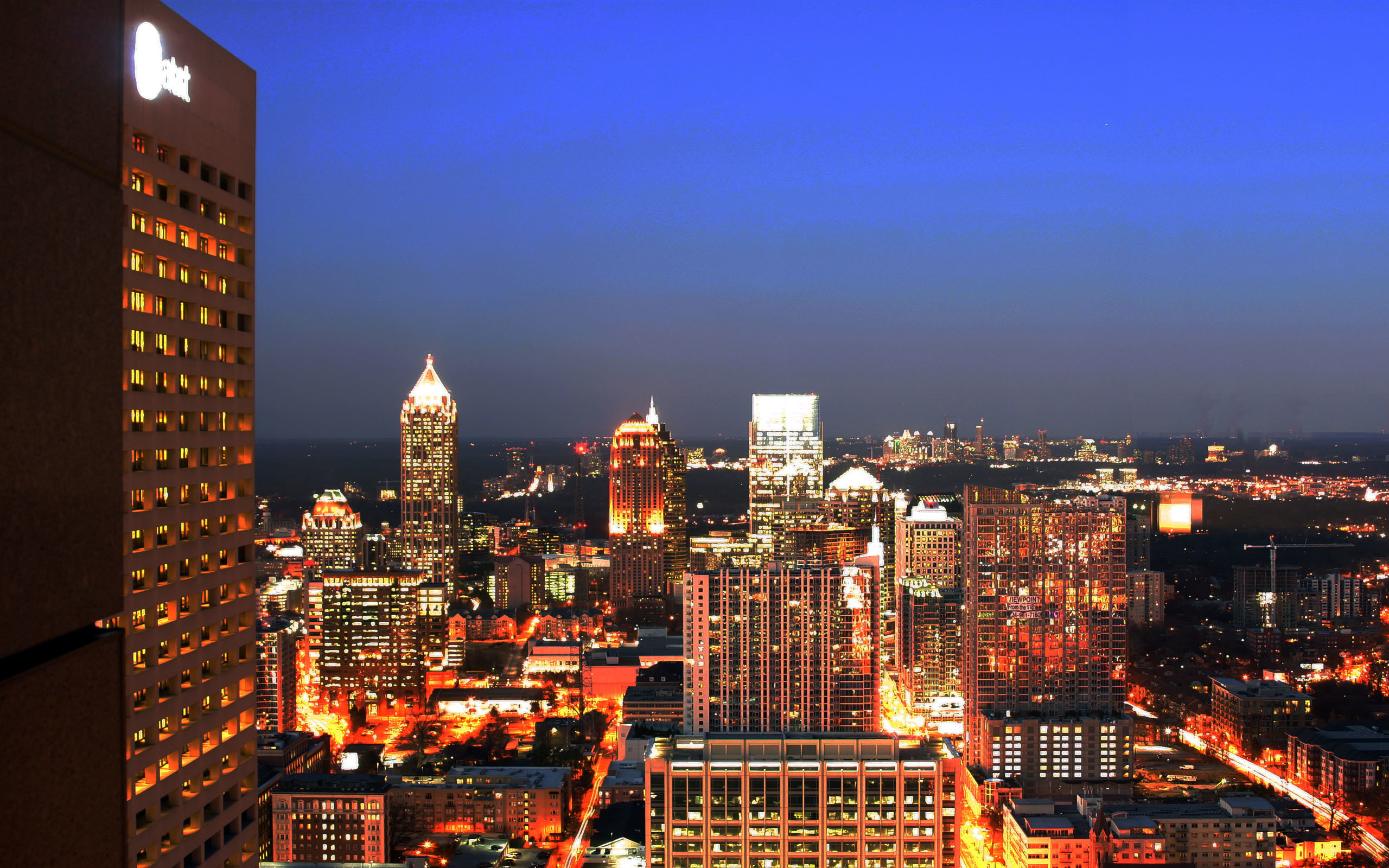 2560x1600 HD free atlanta wallpaper.