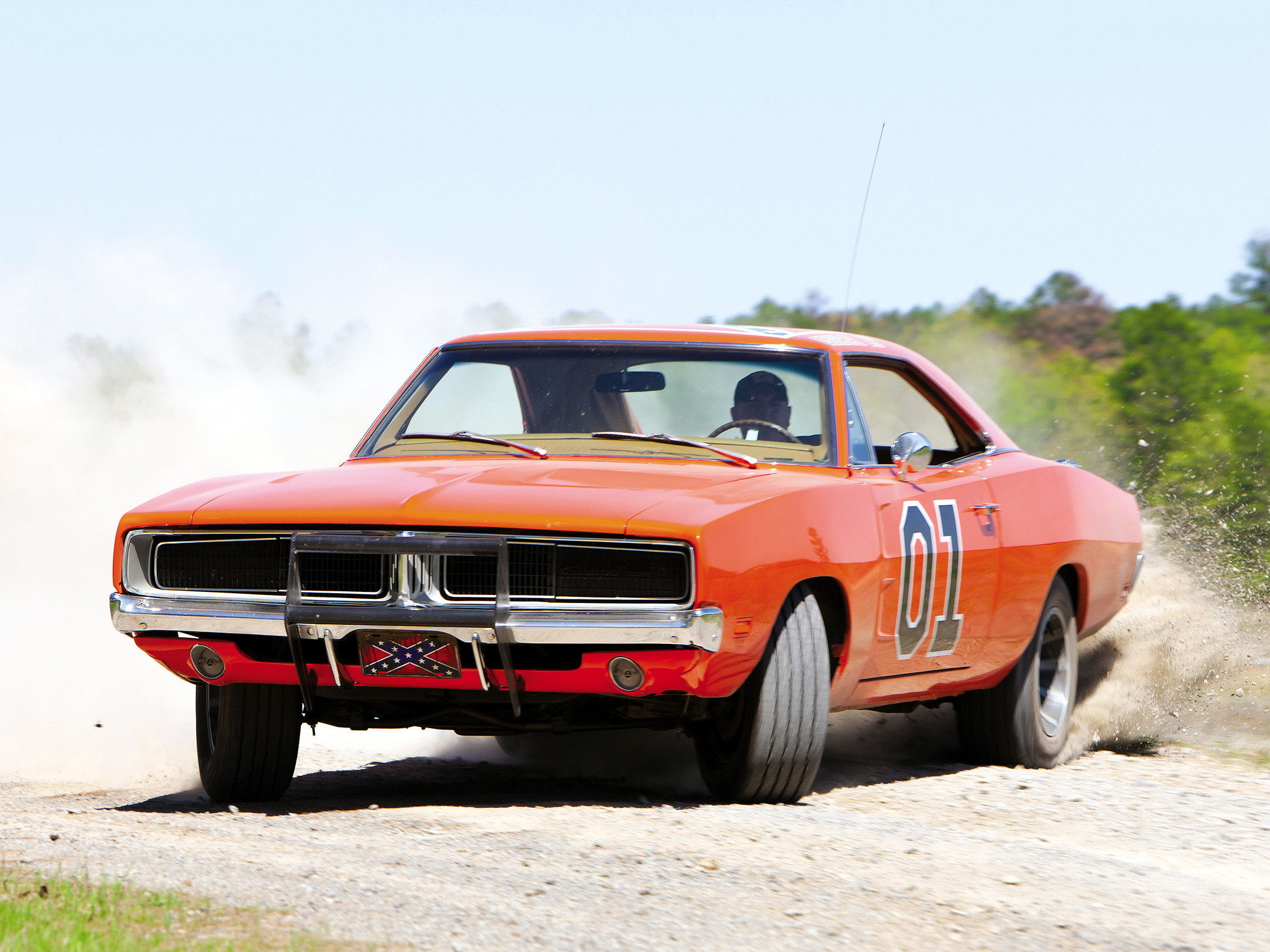 2048x1536 Dodge Charger General Lee '1979–85