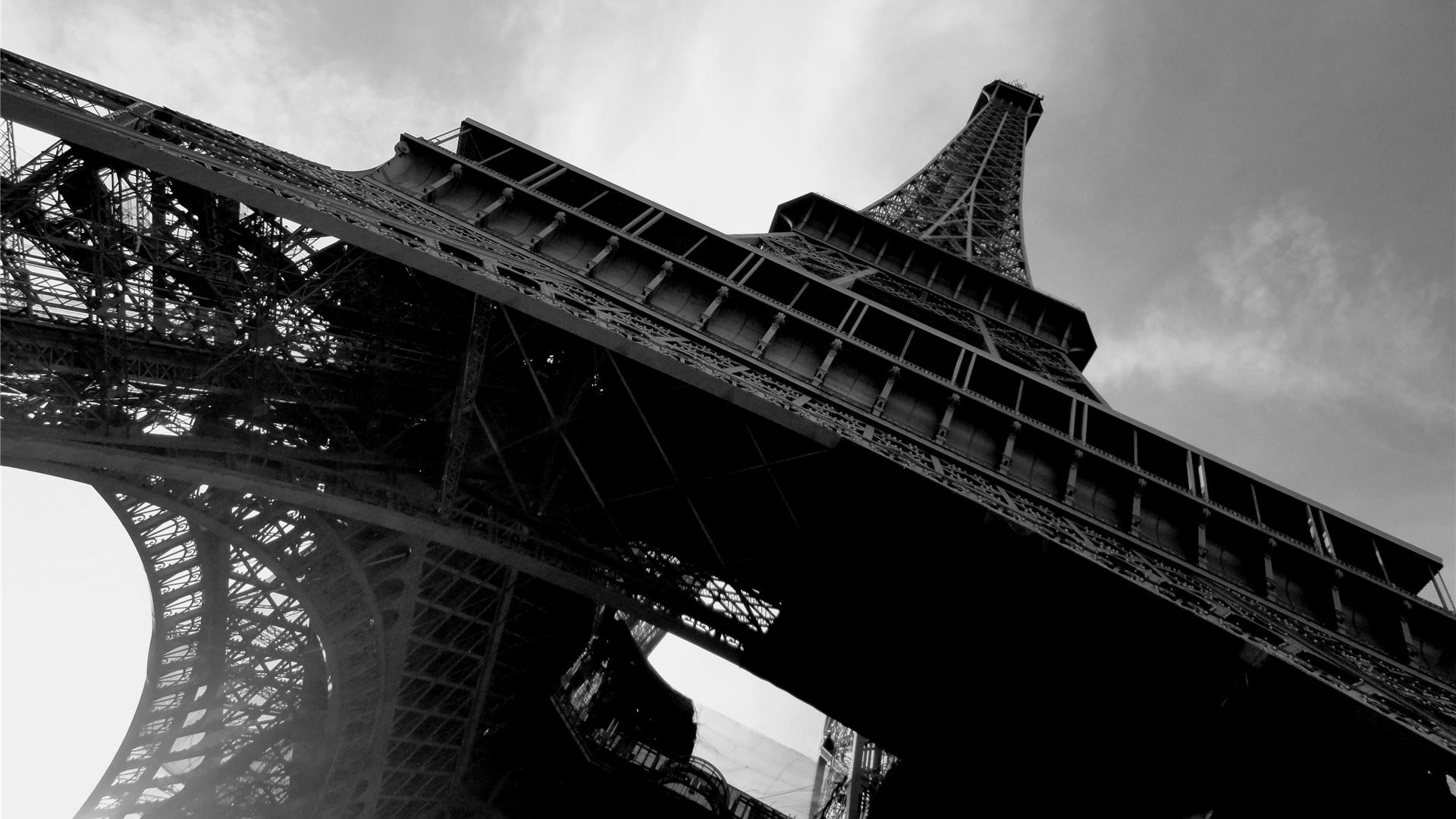 1920x1080 Black And White Paris Wallpapers Phone For Desktop Wallpaper