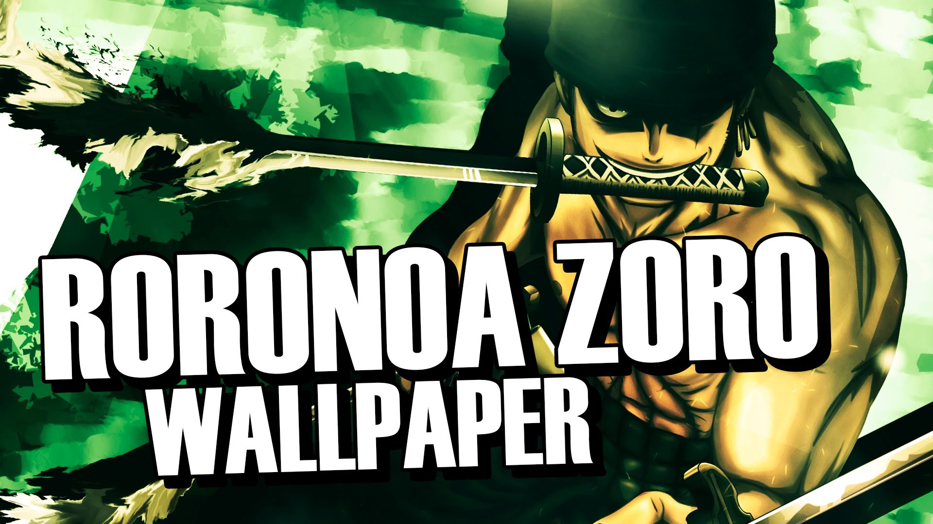 1920x1080 ...  Wallpaper | Roronoa Zoro | One Piece | YouTu