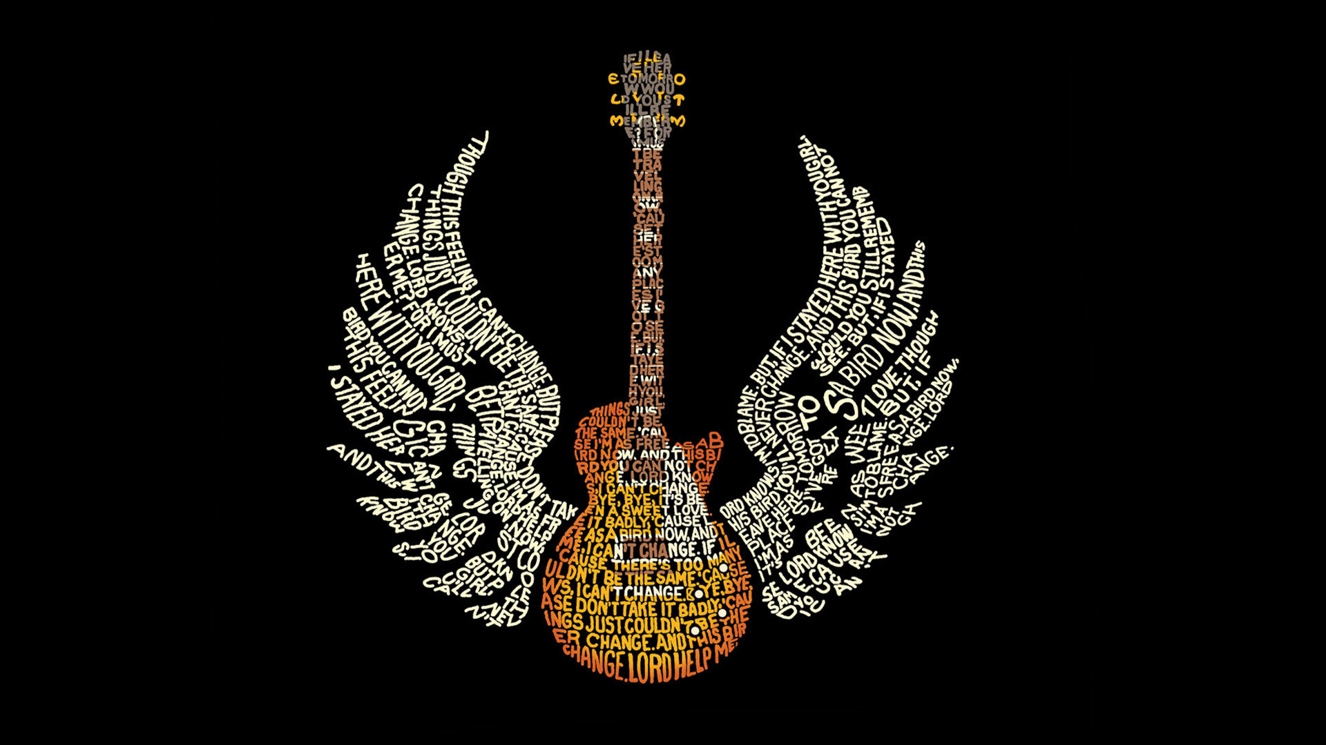 1920x1080 hd pics photos music guitar wings text logo desktop background wallpaper