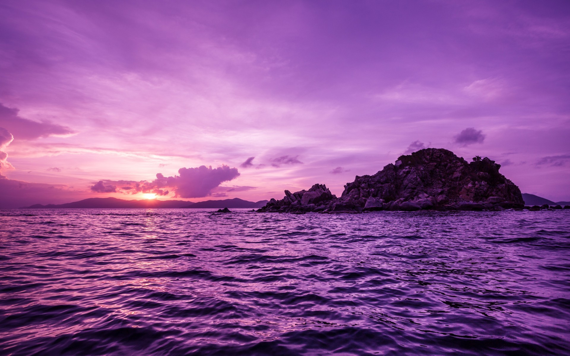 1920x1200 Pretty Purple Pelican Islands wallpapers and stock photos