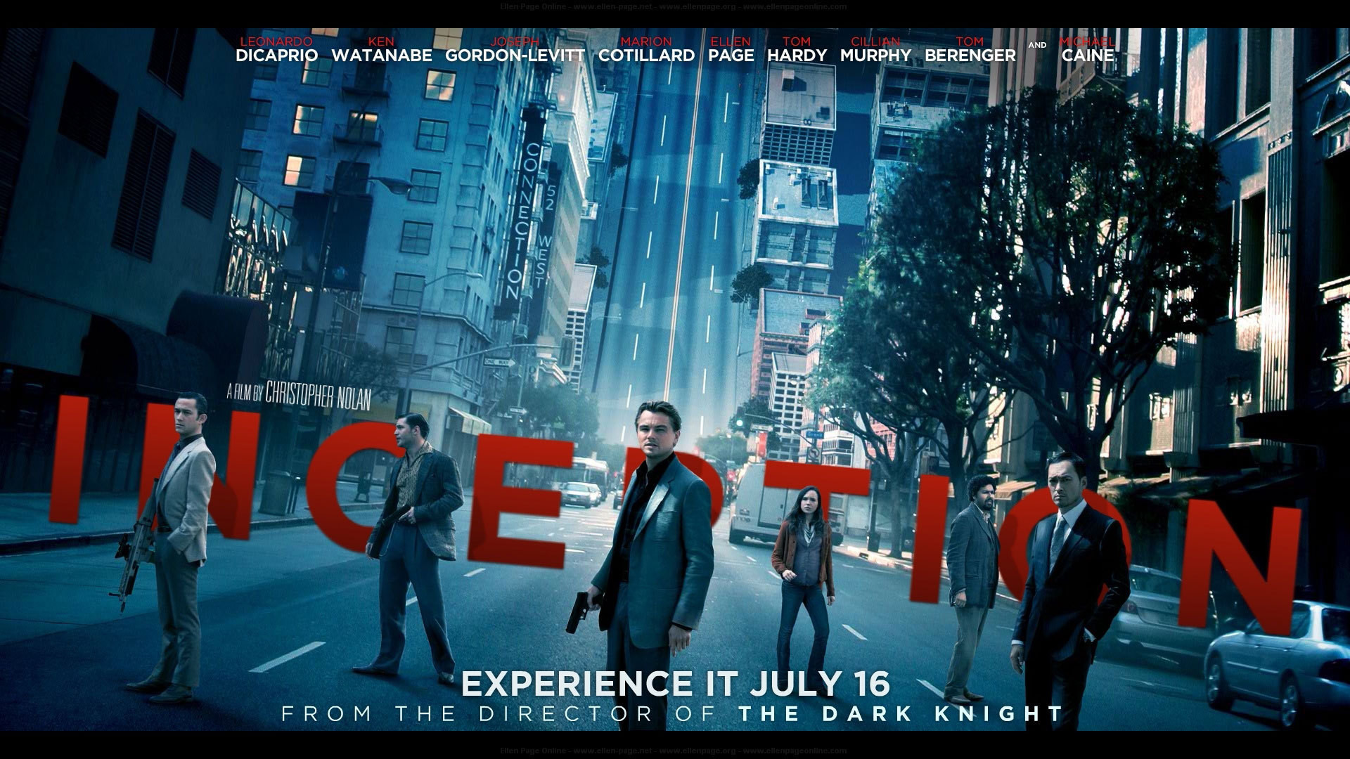 Inception Movie Poster Trent