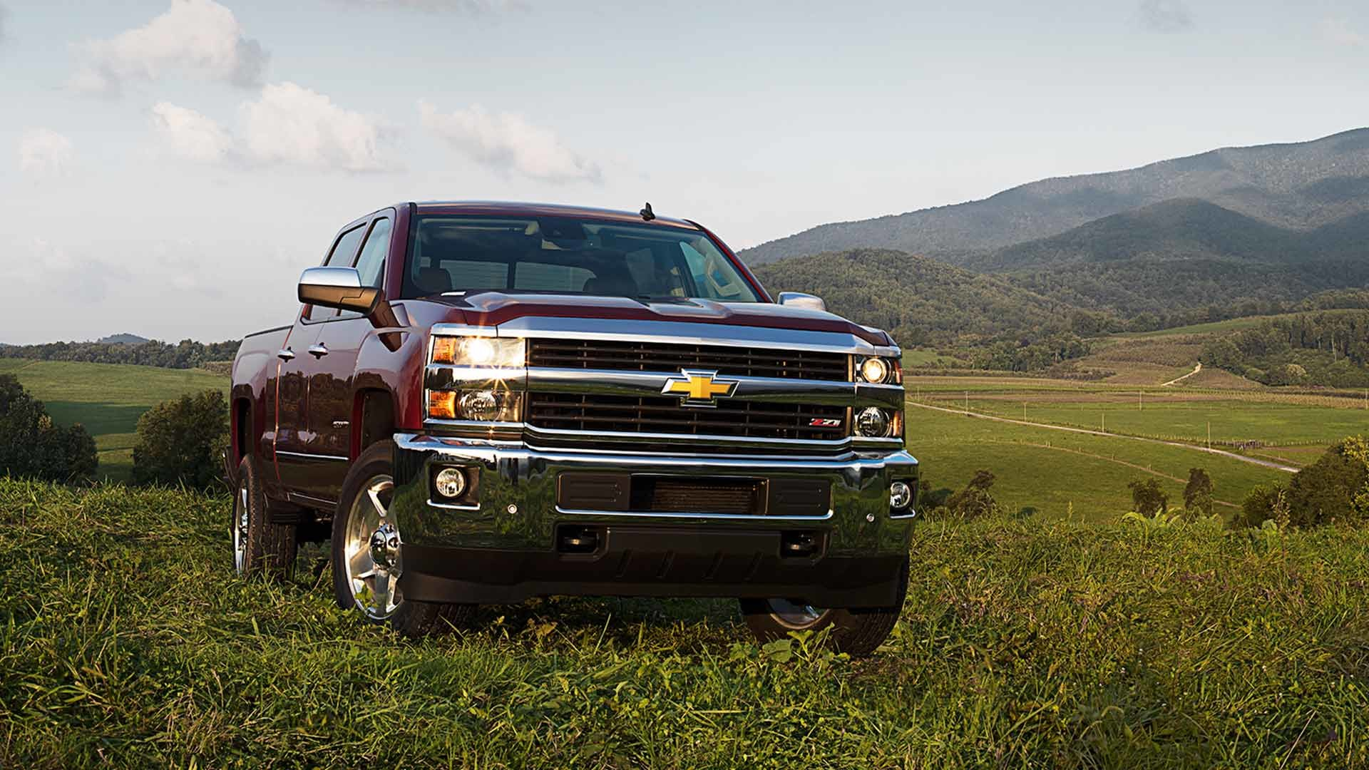 1920x1080 2015 Chevrolet Silverado Picture Wallpapers