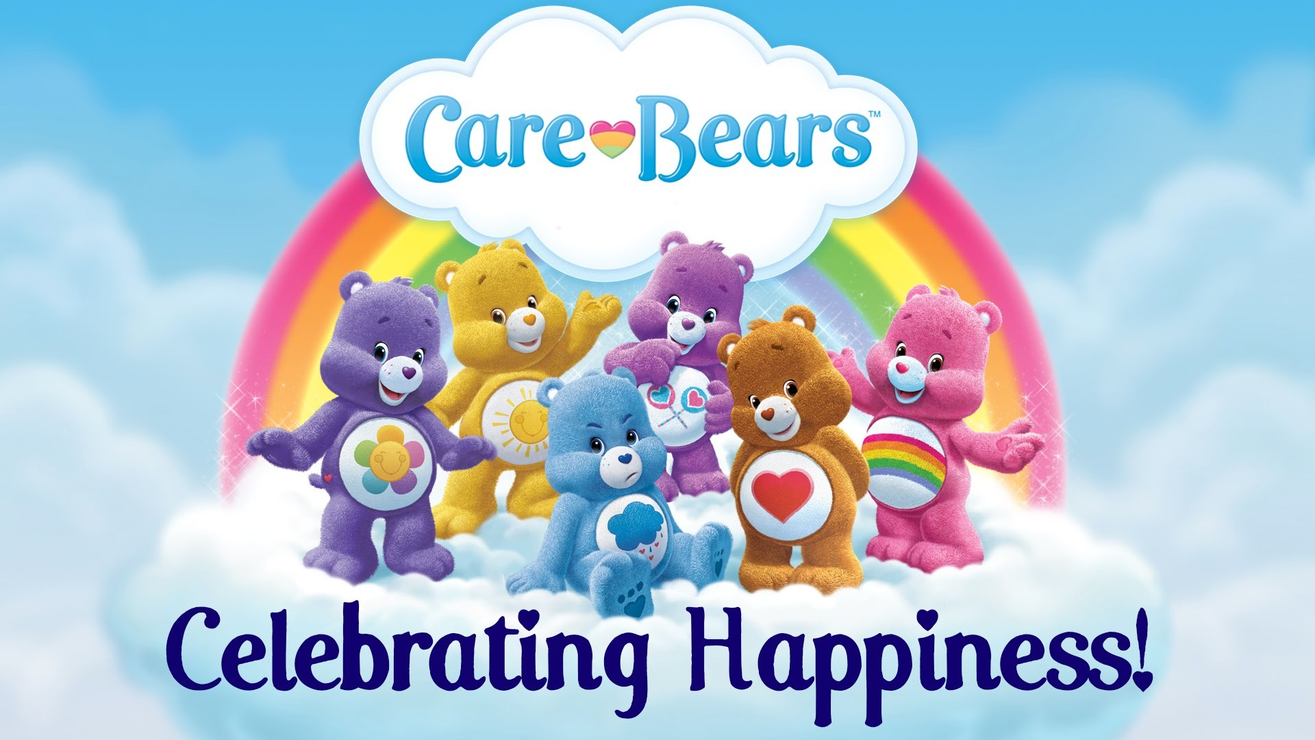 1920x1080 Celebrating Happiness with the Care Bears! | HAPPIEST MOMENTS COMPILATION -  YouTube