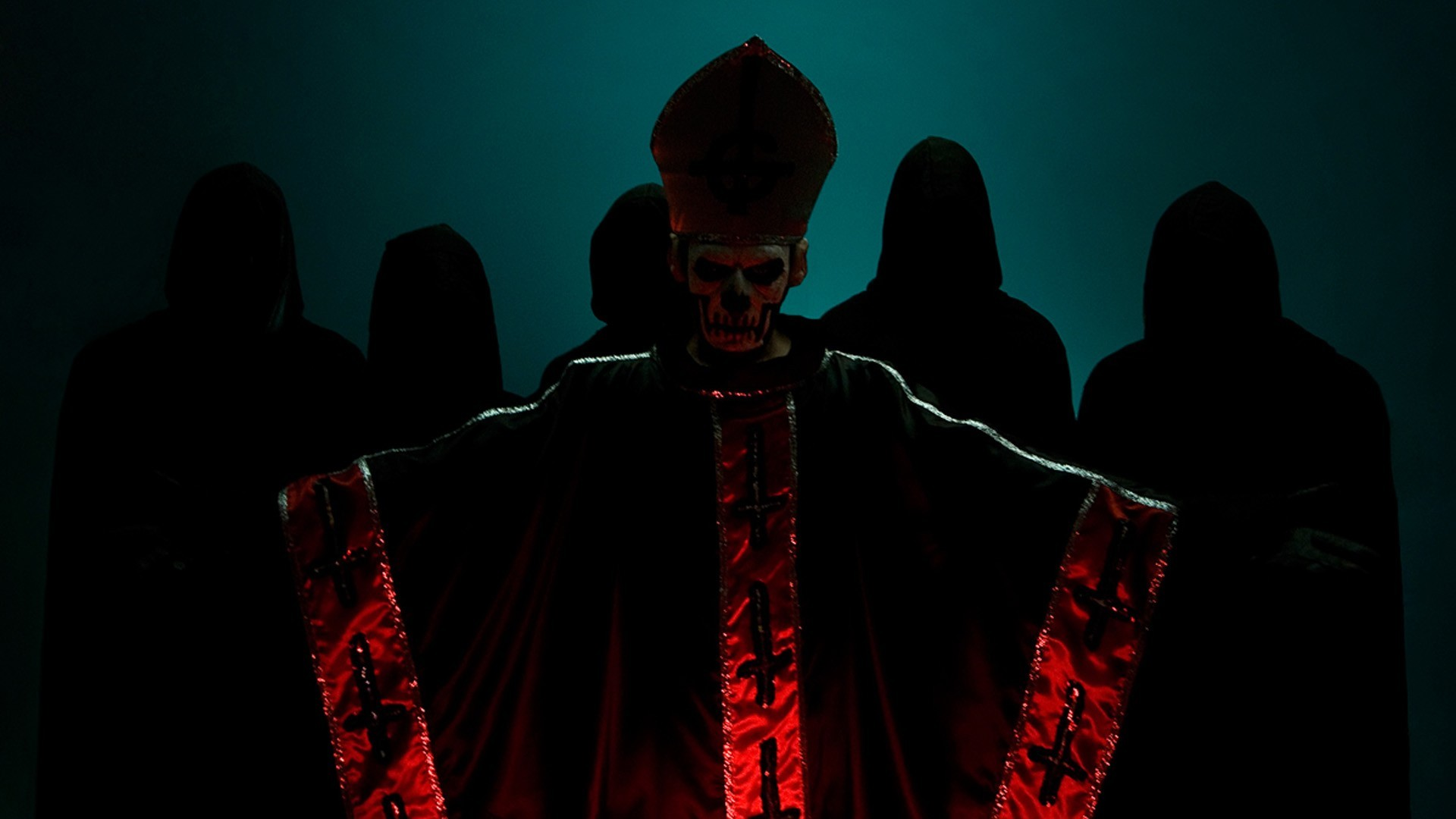 1920x1080 ... band ghost pope papa wallpapers ...