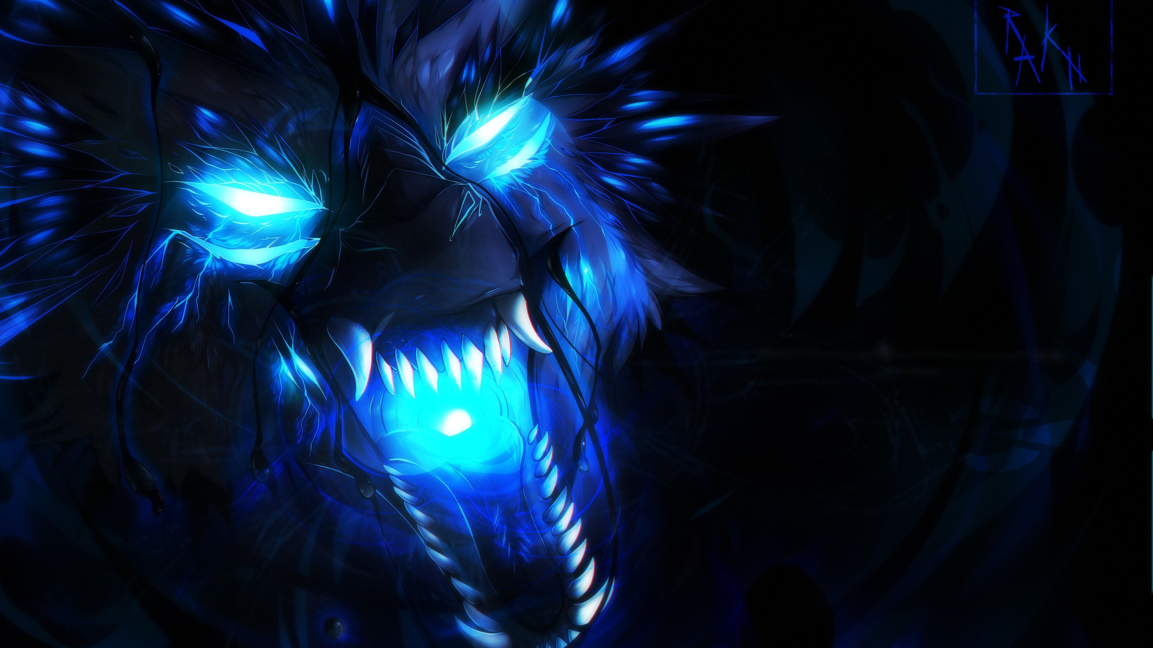 Blue Flame Wolf Wallpaper 75 Images