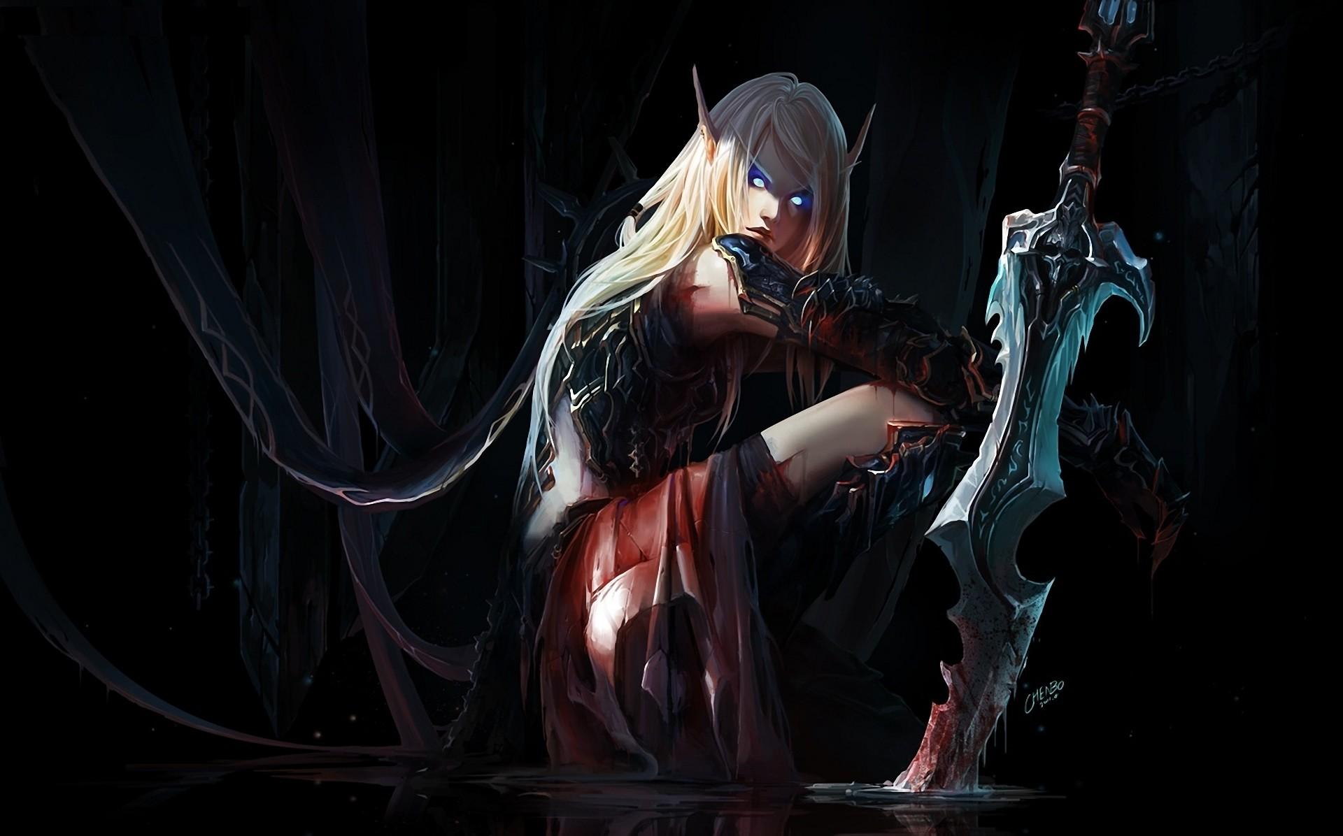 Blood Elf Death Knight Wallpaper 79 Images