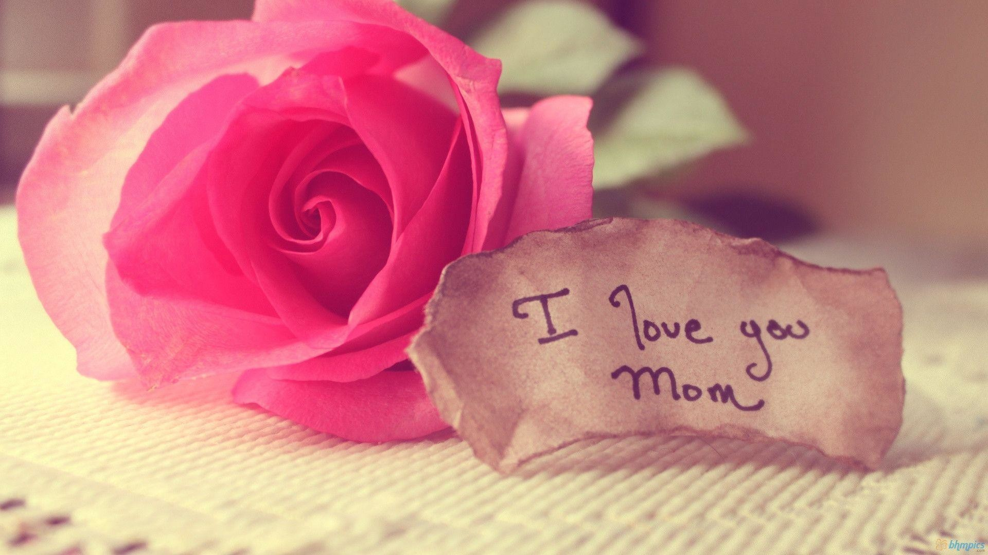 1920x1080 Download Mother's Day I Love You Mom Wallpaper HD (3155) Full Size .