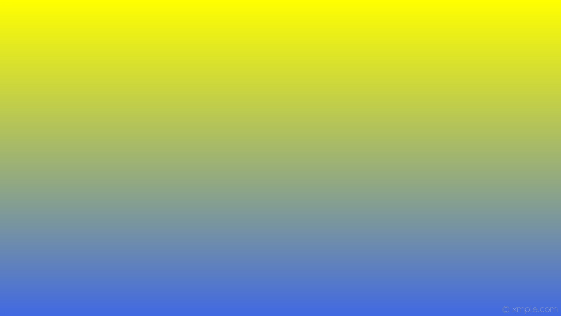 1920x1080 wallpaper yellow blue gradient linear royal blue #ffff00 #4169e1 90°