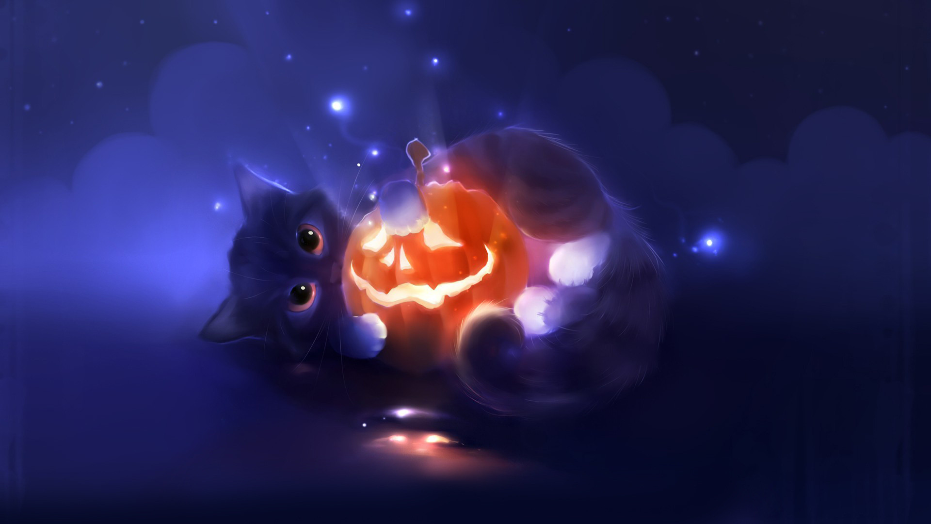 Cute Cat Halloween Wallpaper 65 Images