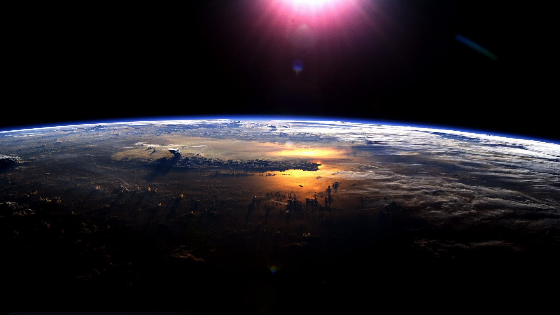 1920x1080 NASA HDEV : Video of Earth From Space From The International Space Station  ISS