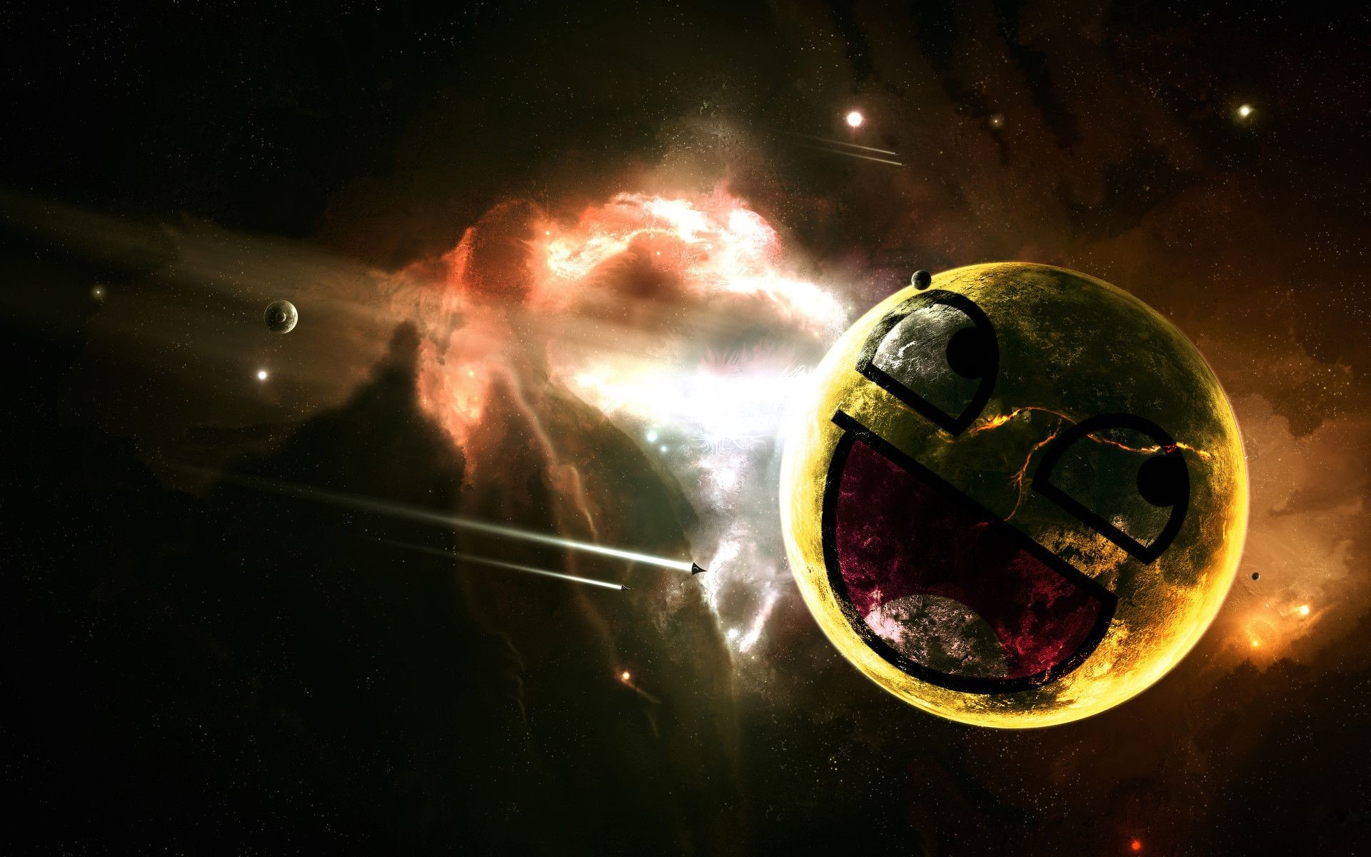 Awesome Face Wallpaper Space 77 Images