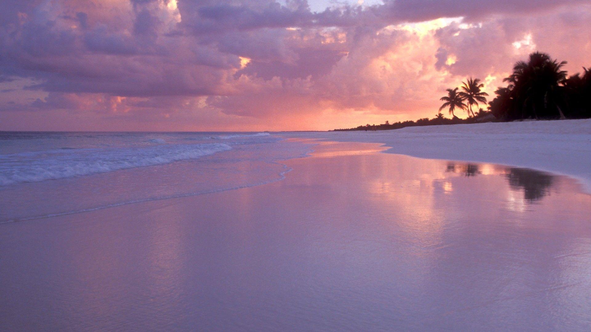 2560x1600 Twilight Island Beach Sunset