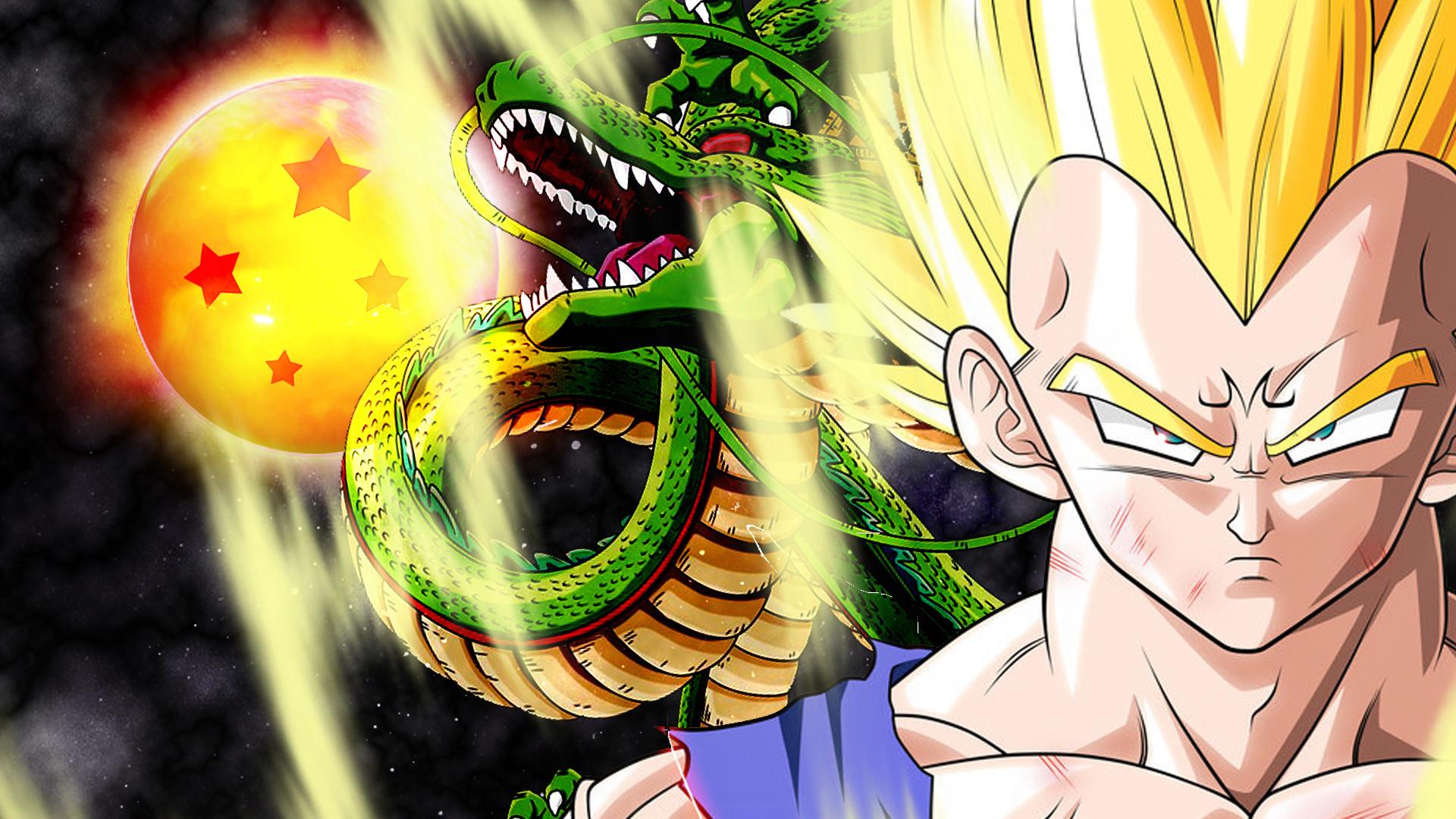 Epic Dbz Wallpapers High Resolution: Dbz Wallpaper Goku And Vegeta (76+ Images